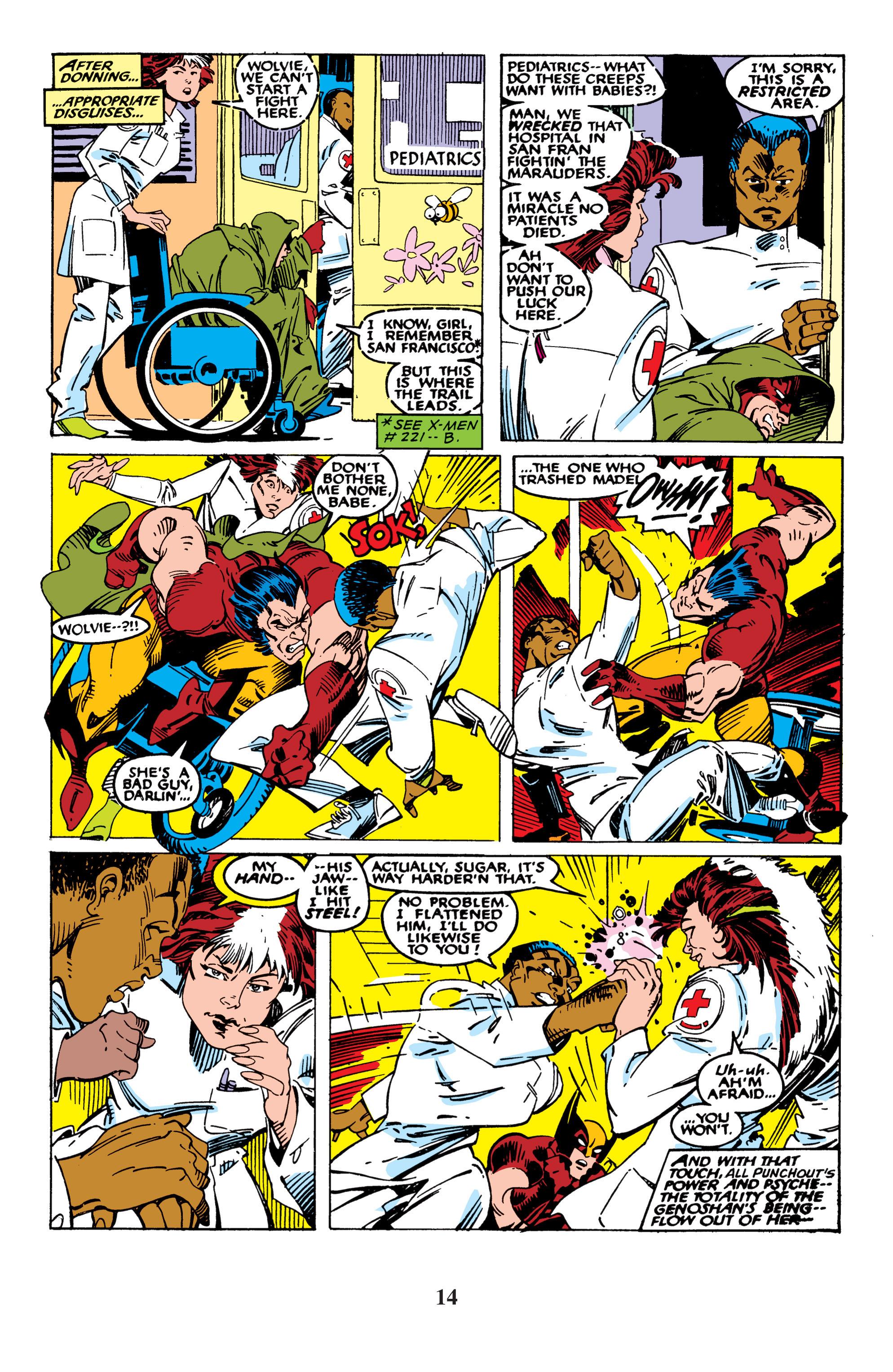 Read online Uncanny X-Men (1963) comic -  Issue #235 - 14