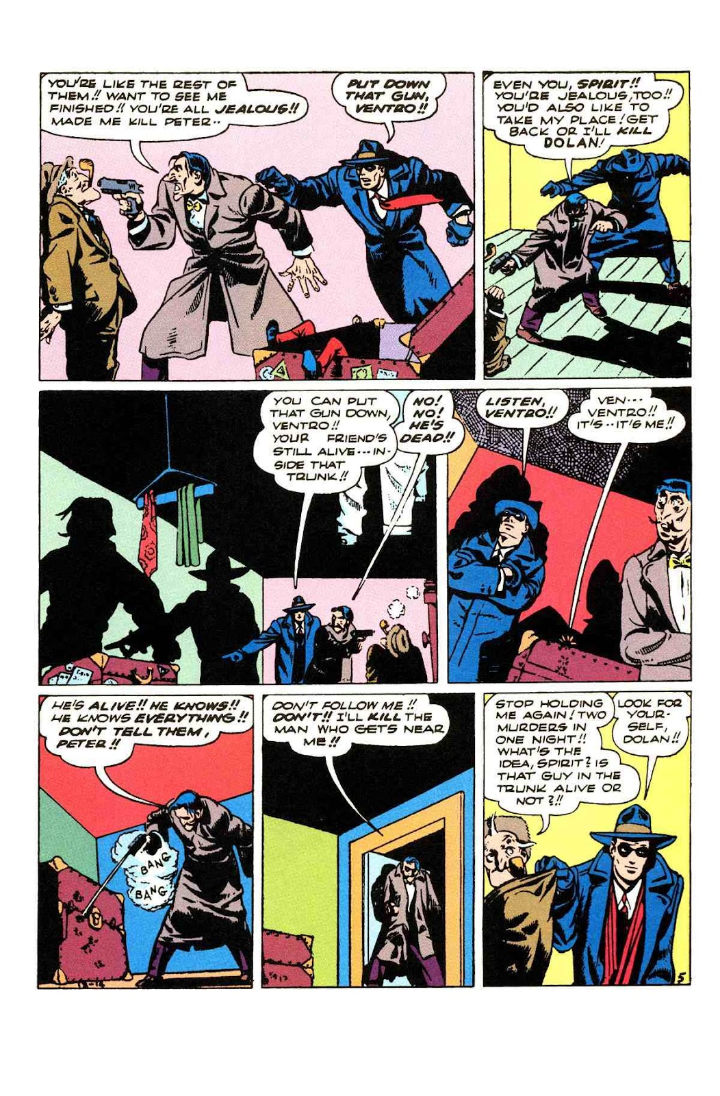 Read online Will Eisner's The Spirit Archives comic -  Issue # TPB 3 (Part 2) - 90