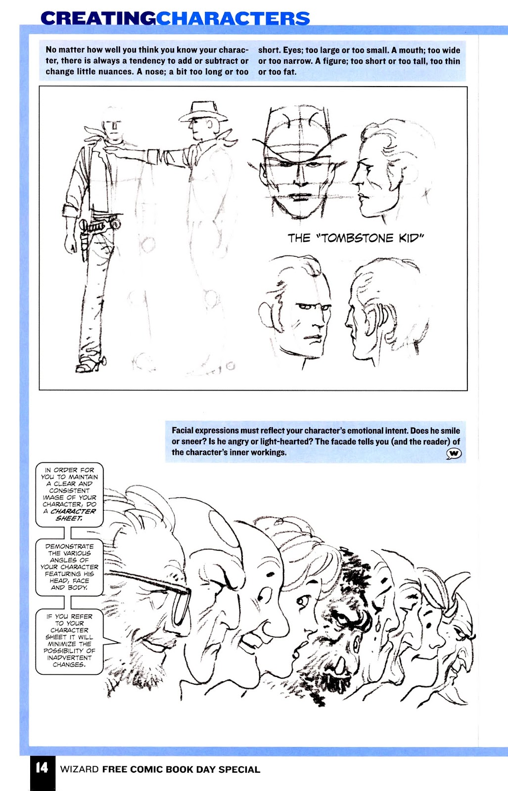 Read online Wizard How to Draw Sampler comic -  Issue # Full - 15