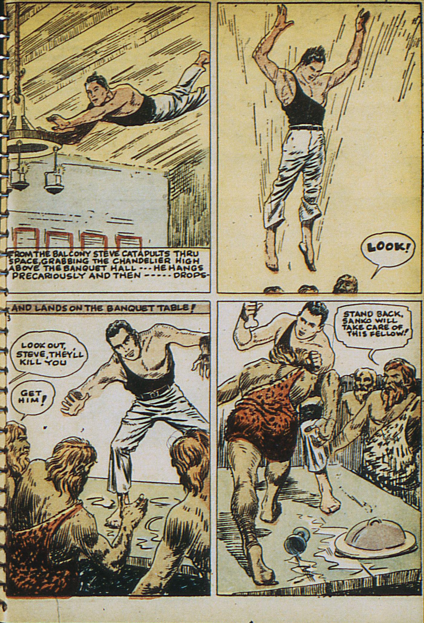Read online Adventure Comics (1938) comic -  Issue #23 - 5