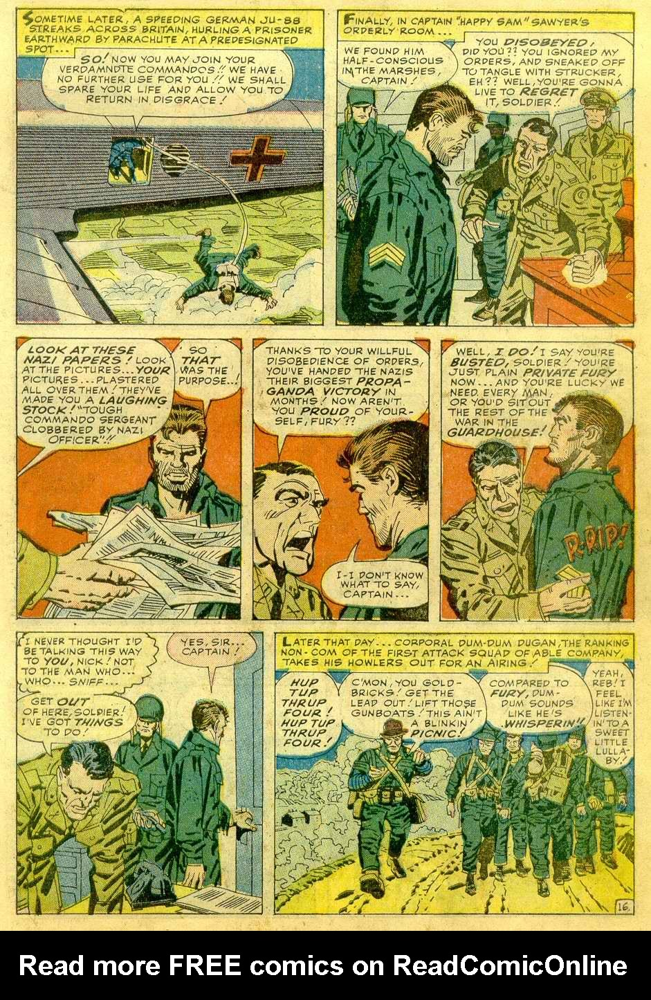 Read online Sgt. Fury comic -  Issue # _Annual 1 - 63