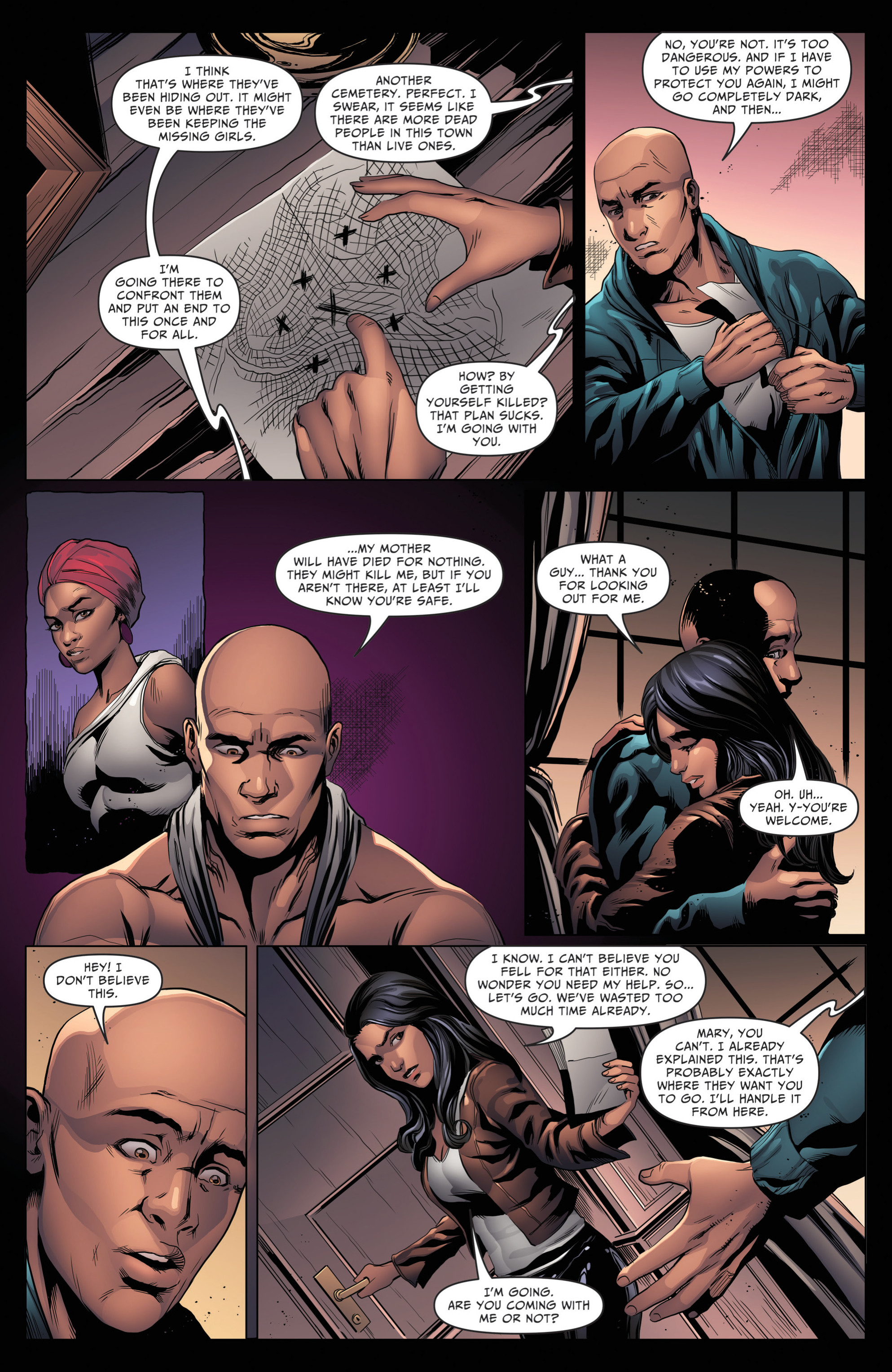Read online Grimm Fairy Tales: Day of the Dead comic -  Issue #4 - 12