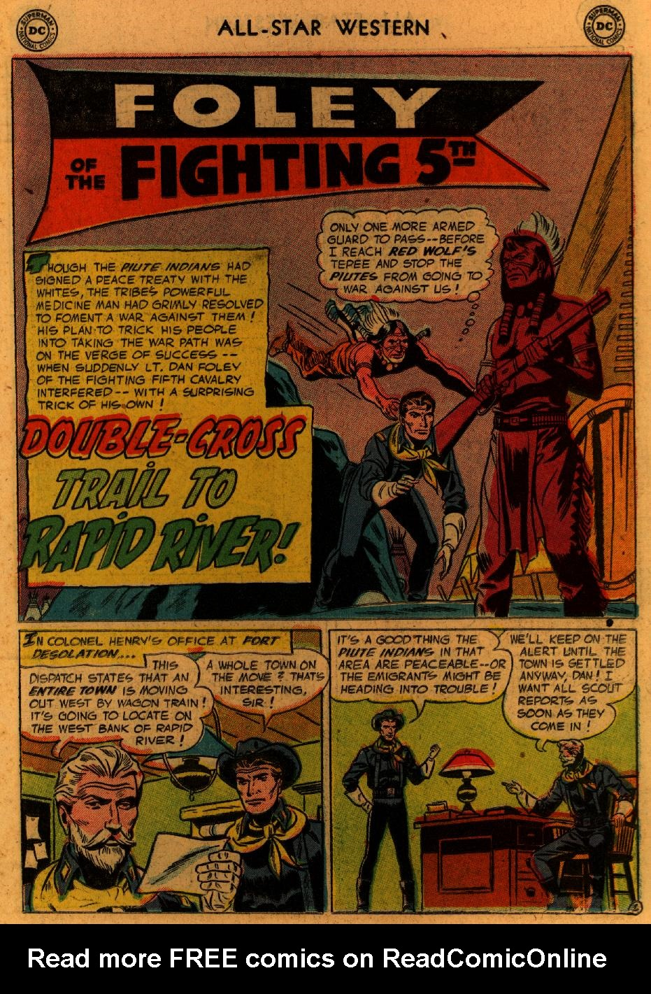 Read online All-Star Western (1951) comic -  Issue #89 - 20