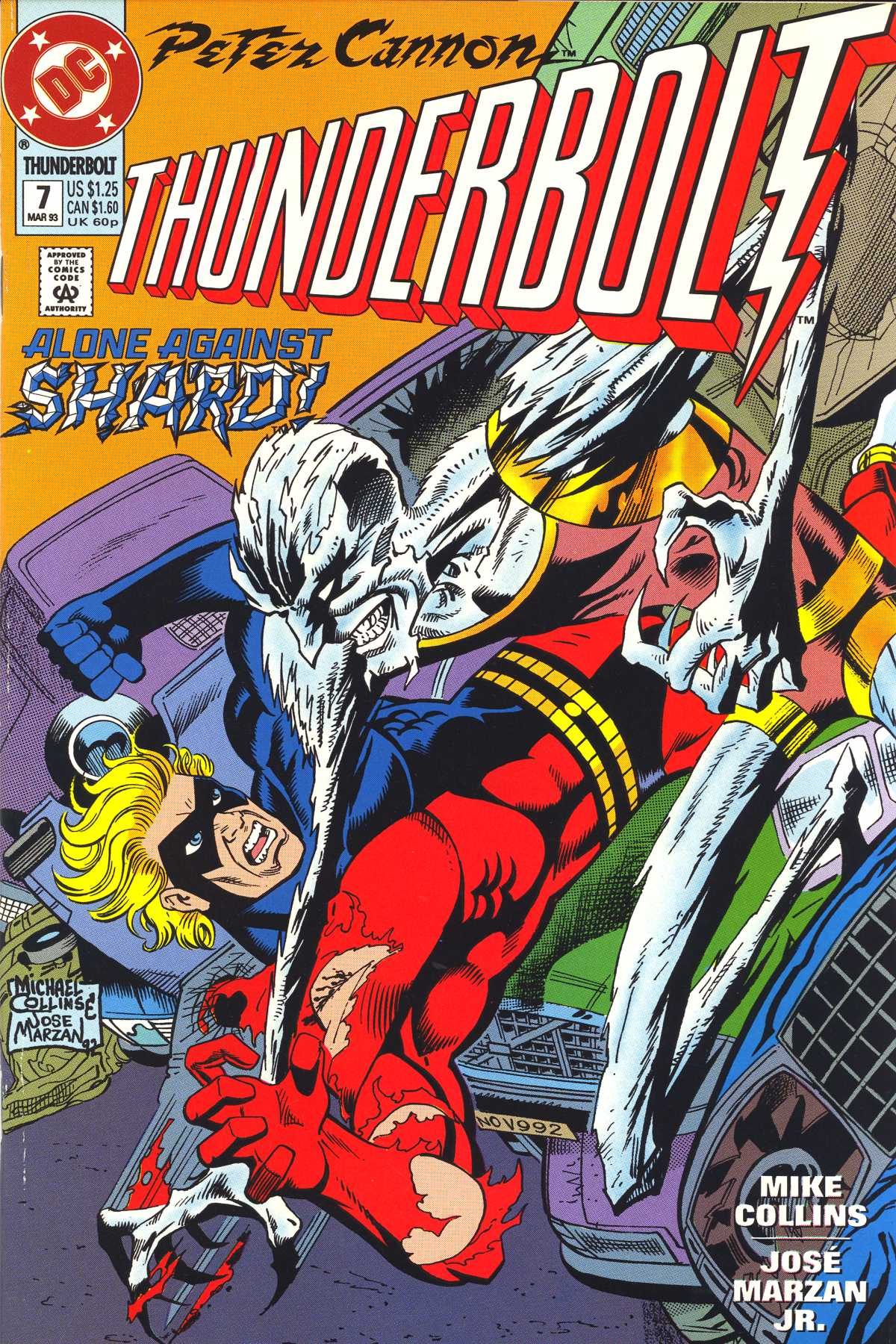 Read online Peter Cannon--Thunderbolt (1992) comic -  Issue #7 - 1