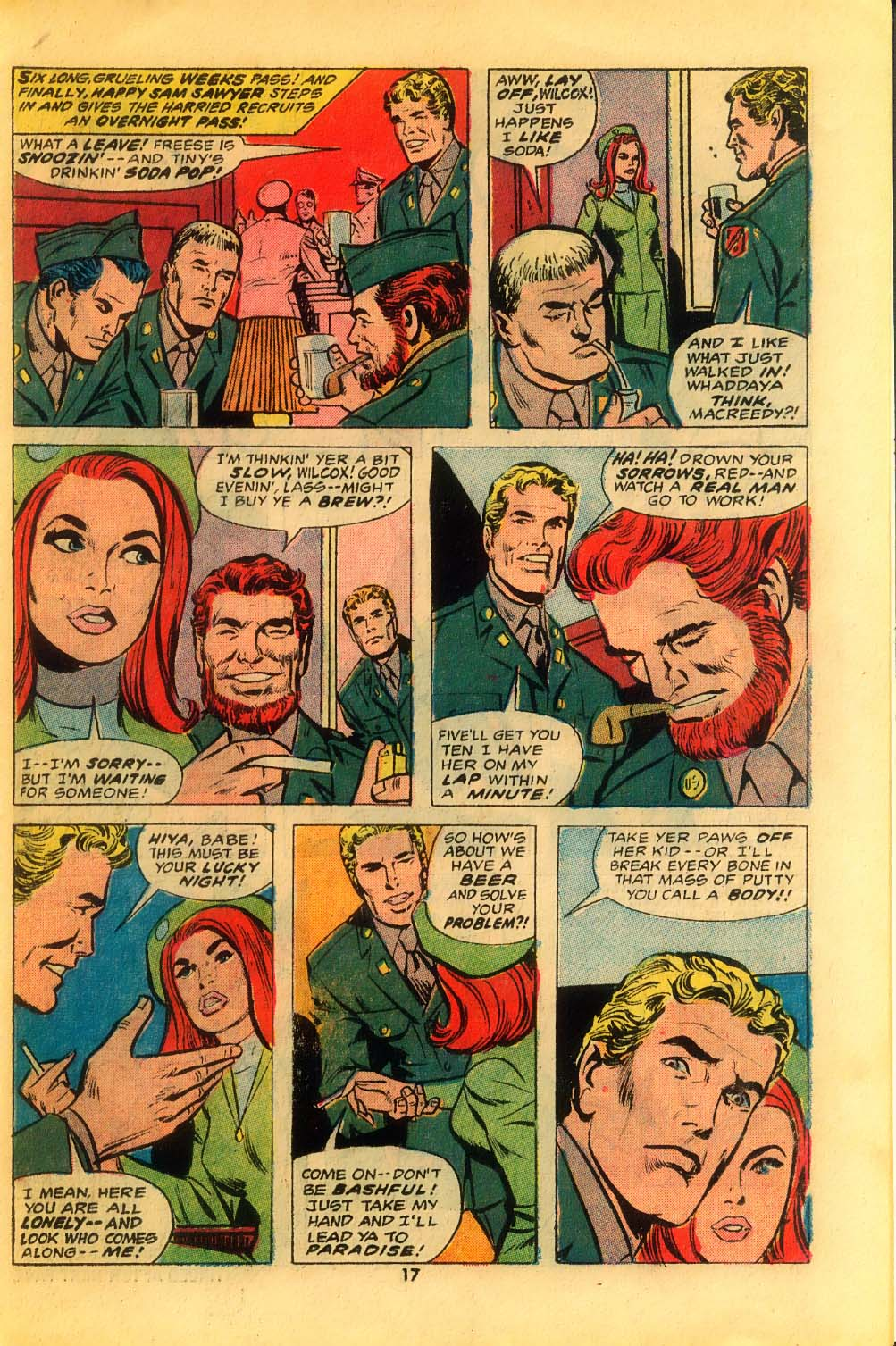 Read online Sgt. Fury comic -  Issue #116 - 19