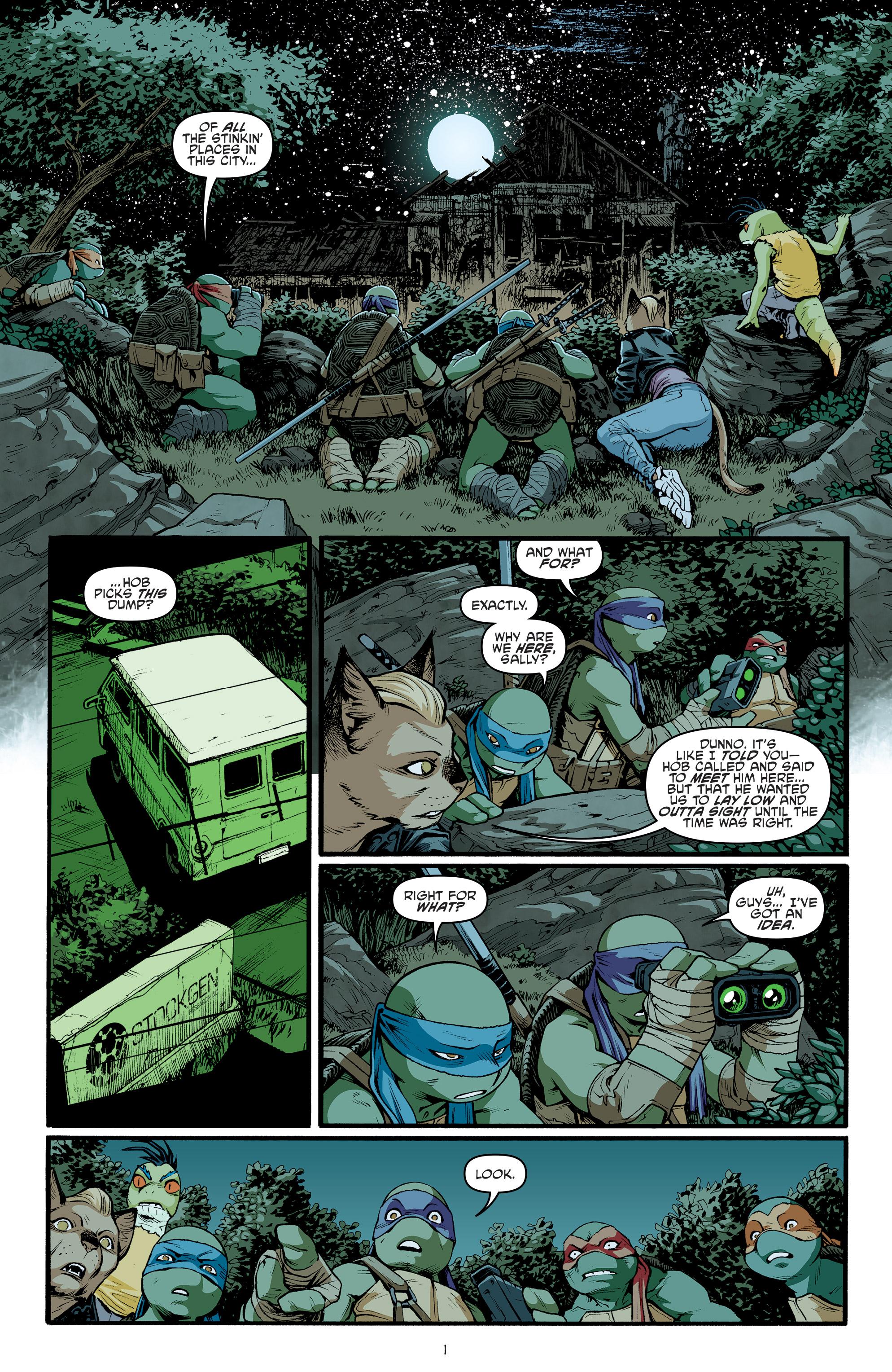 Read online Teenage Mutant Ninja Turtles (2011) comic -  Issue #70 - 3