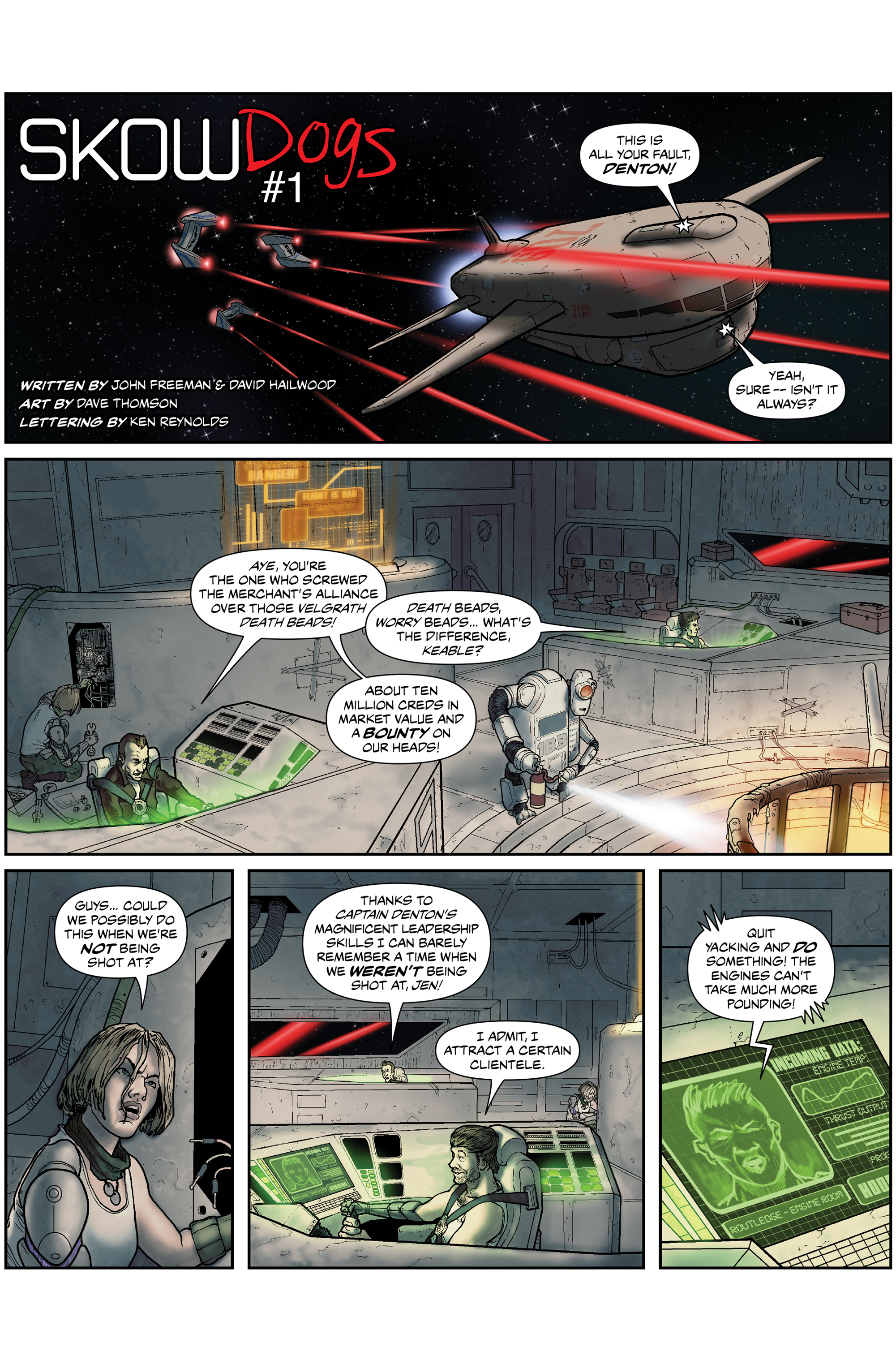 Read online 100% Biodegradable comic -  Issue #15 - 14