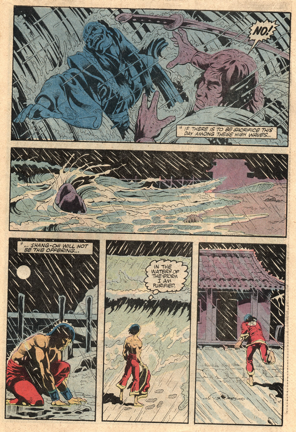 Read online Master of Kung Fu (1974) comic -  Issue #125 - 37