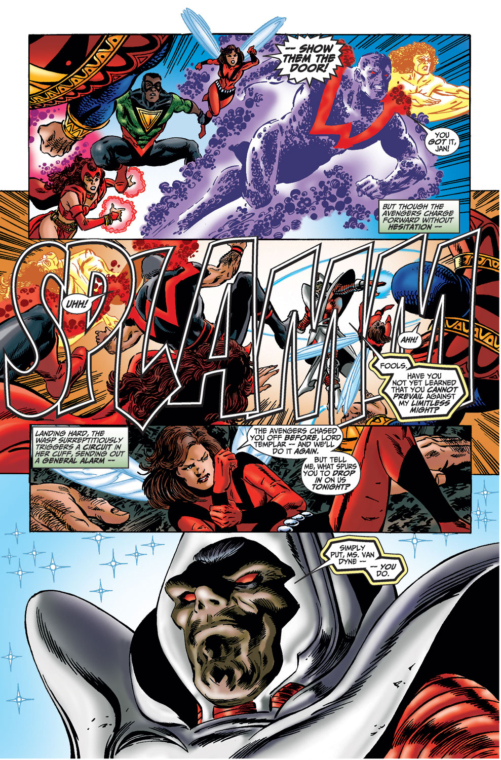Read online Avengers (1998) comic -  Issue #36 - 14