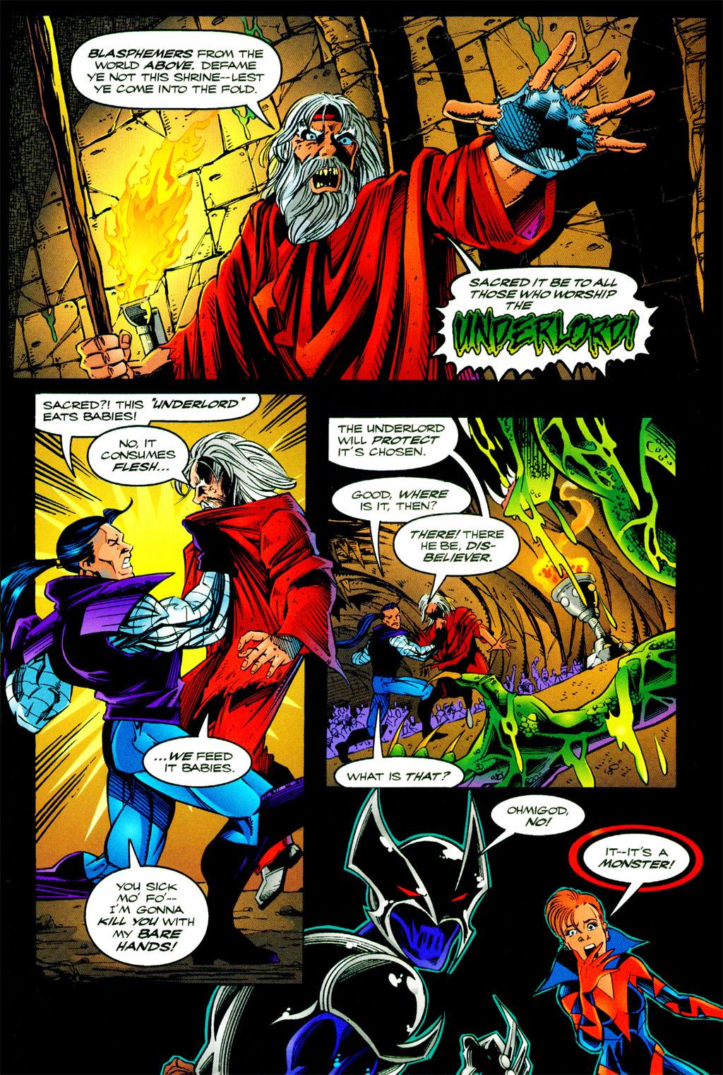 Read online ShadowHawk comic -  Issue #11 - 10