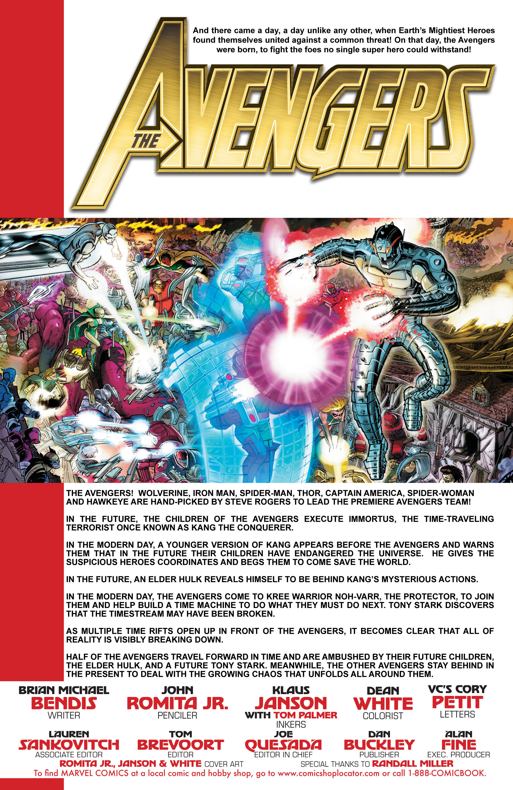 Read online Avengers (2010) comic -  Issue #5 - 2
