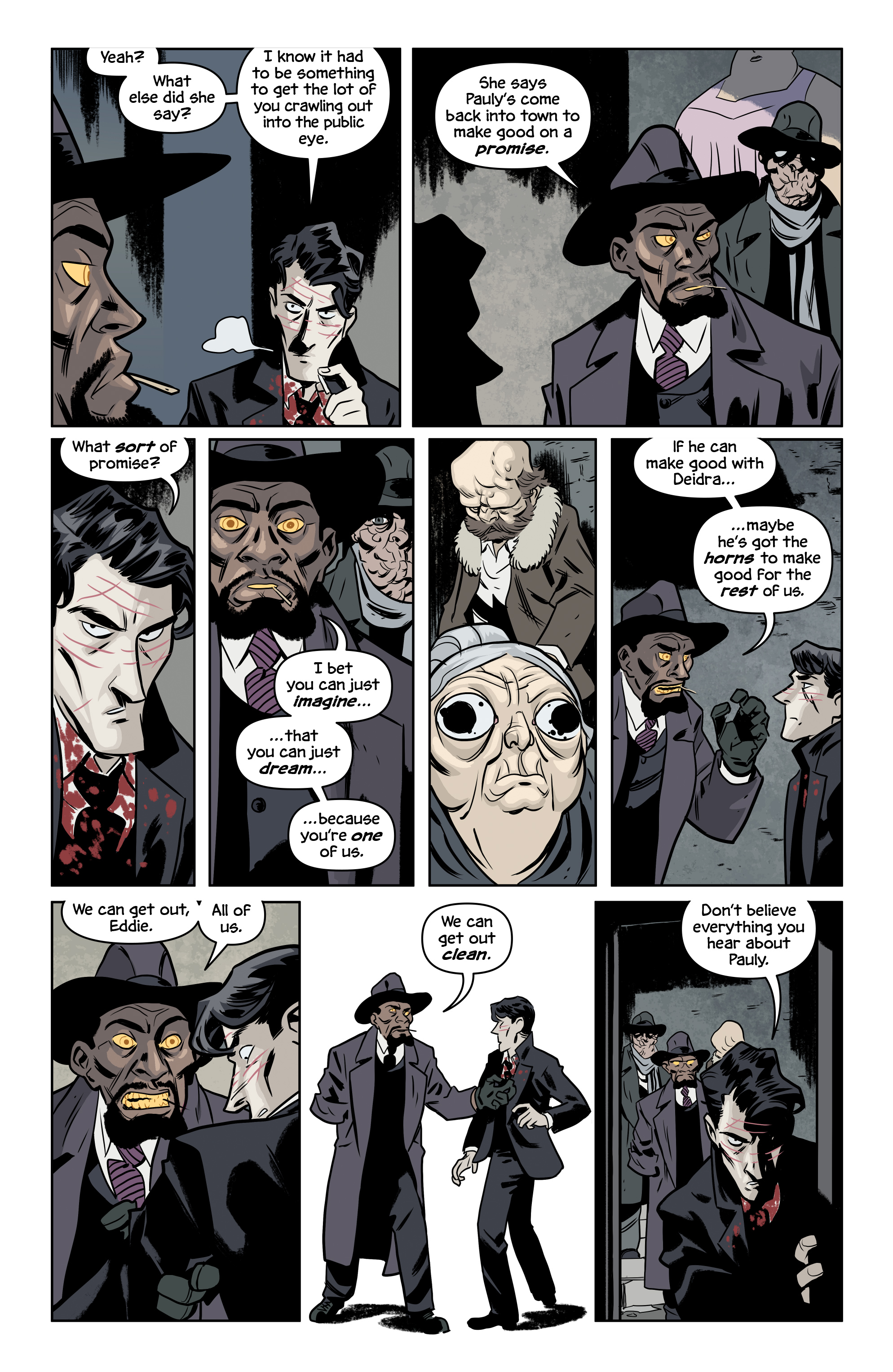 Read online The Damned comic -  Issue #2 - 19
