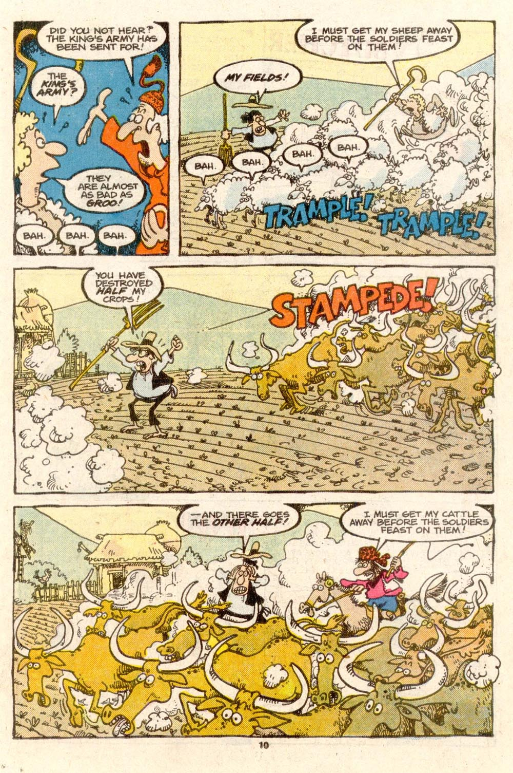 Read online Sergio Aragonés Groo the Wanderer comic -  Issue #37 - 10