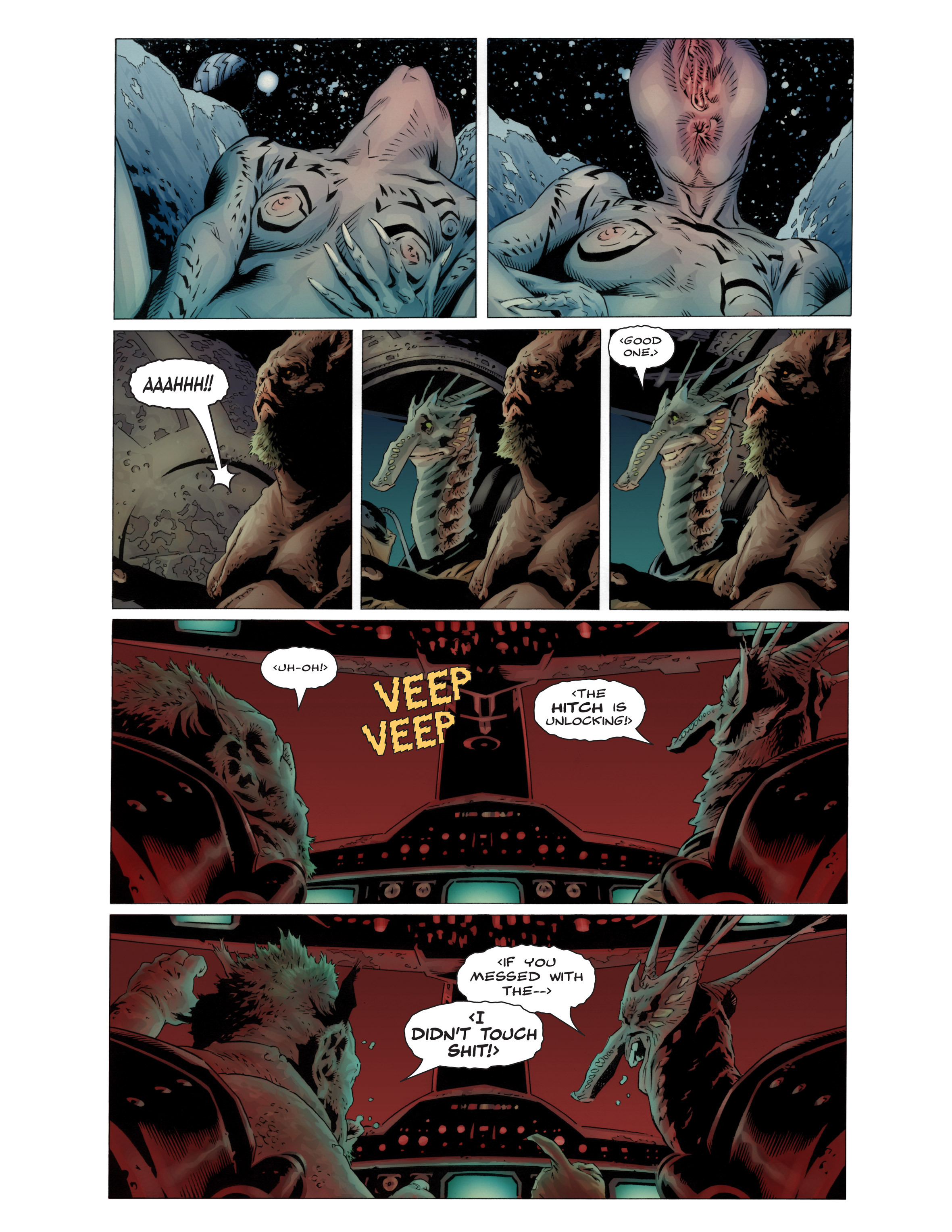 Read online Bad Planet comic -  Issue # TPB - 9