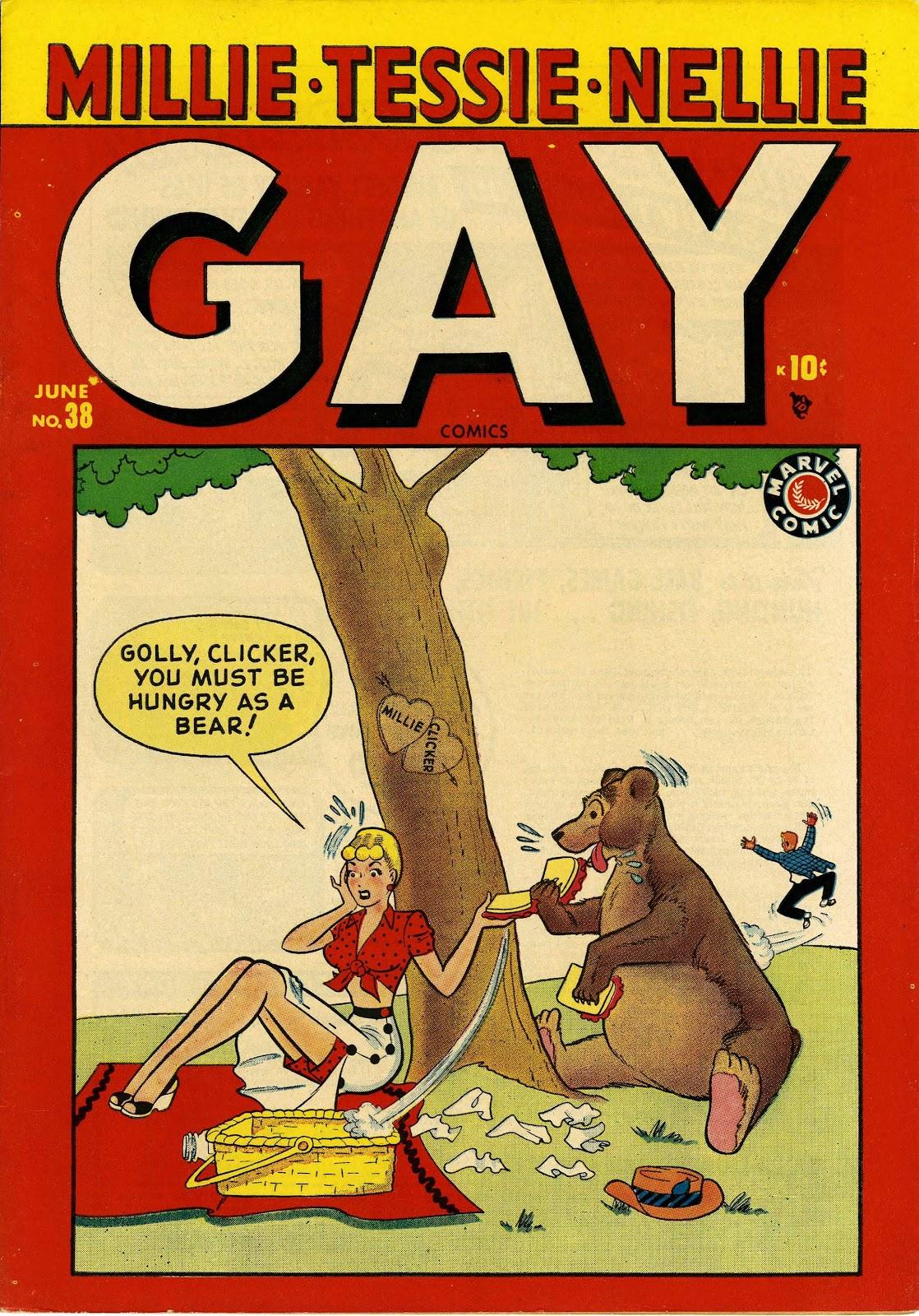 Read online Gay Comics comic -  Issue #38 - 1