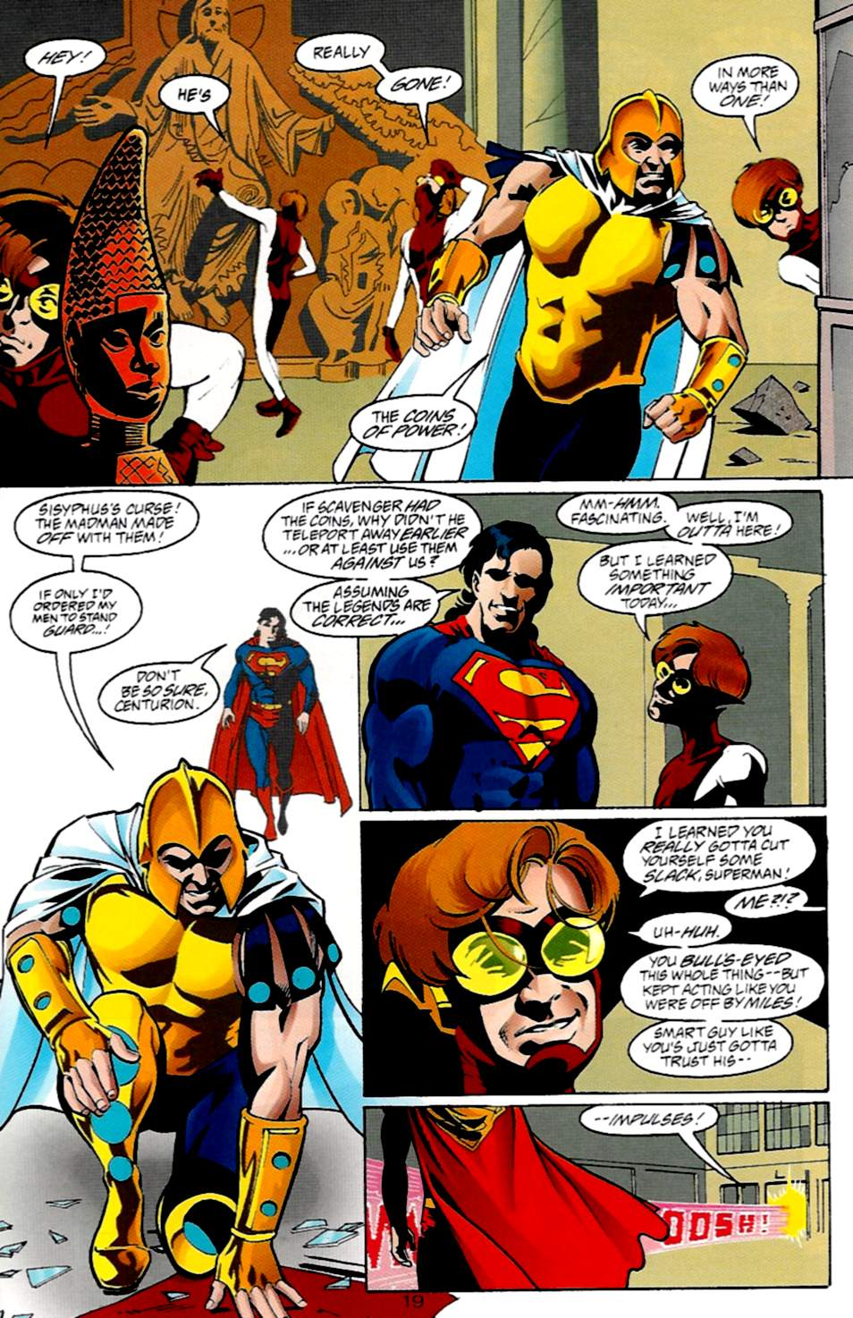 Read online Adventures of Superman (1987) comic -  Issue #533 - 20