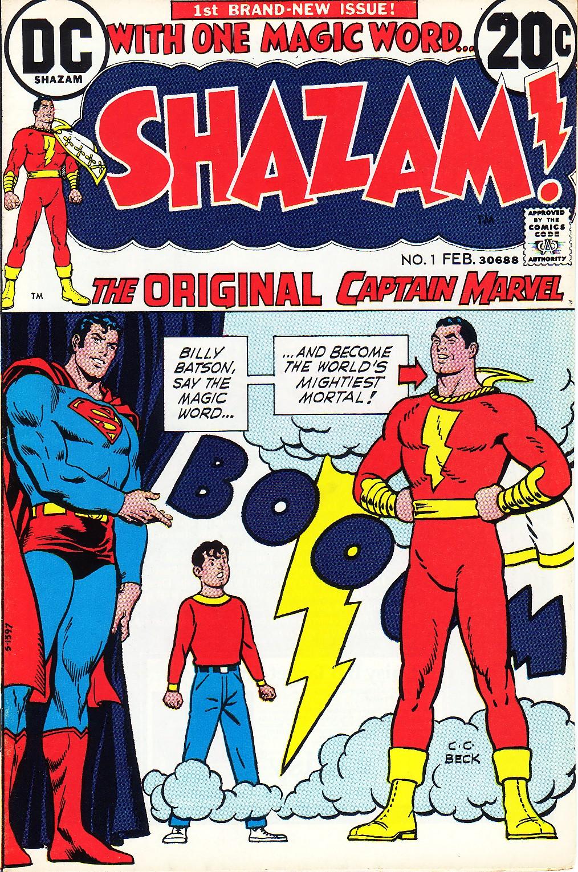 Shazam! (1973) issue 1 - Page 1