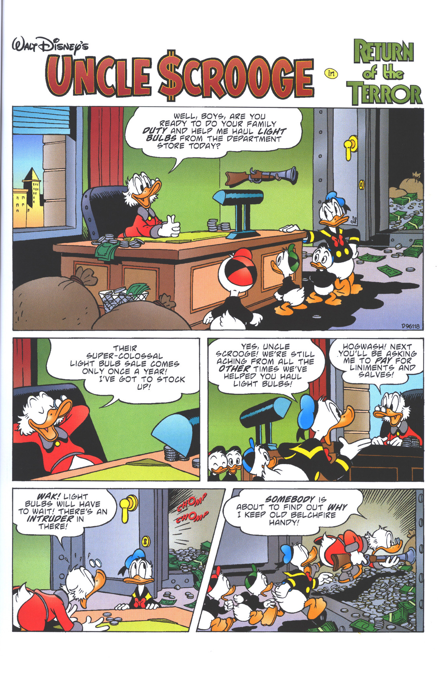 Read online Uncle Scrooge (1953) comic -  Issue #360 - 39