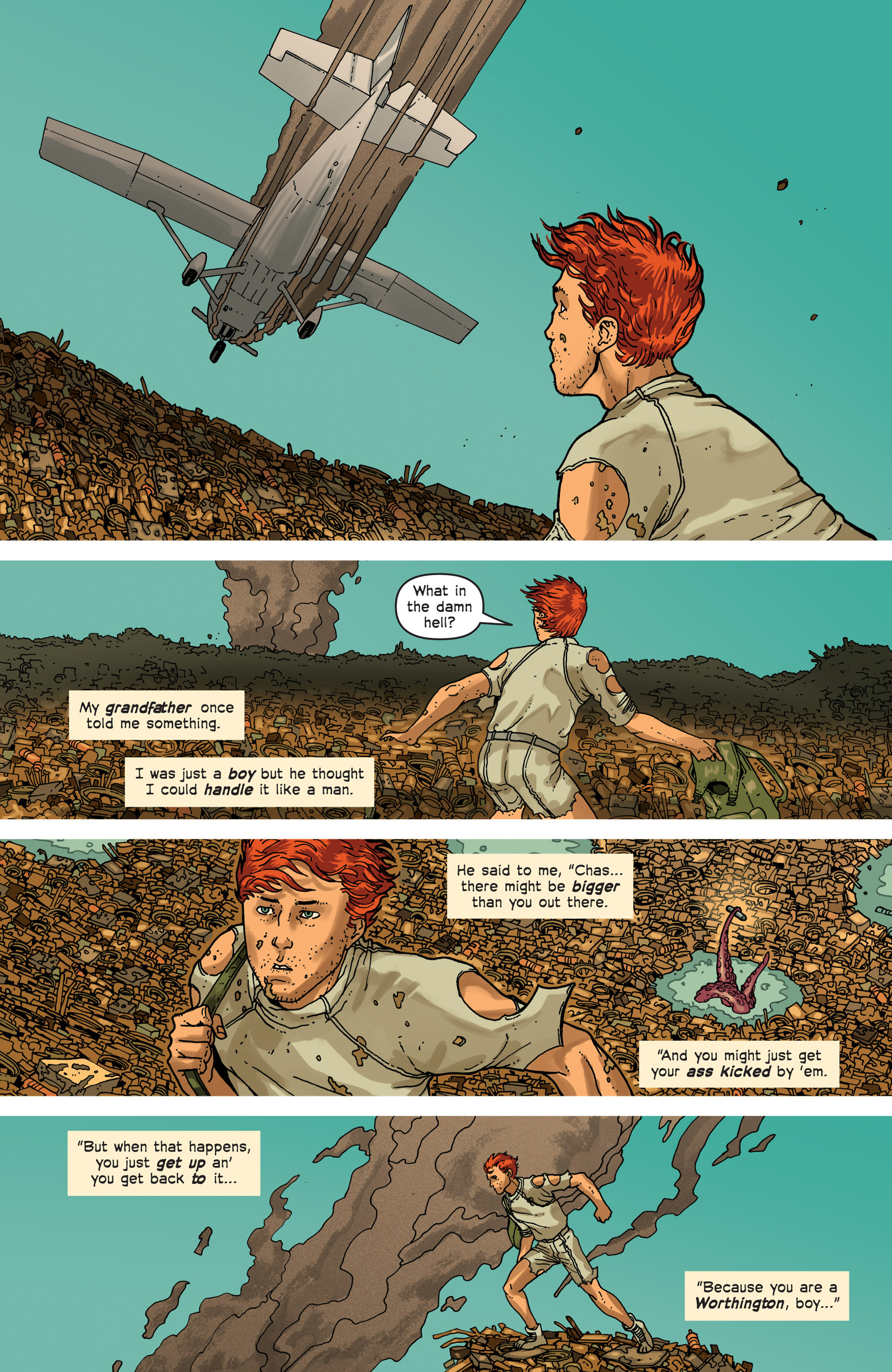Read online Great Pacific comic -  Issue #3 - 13