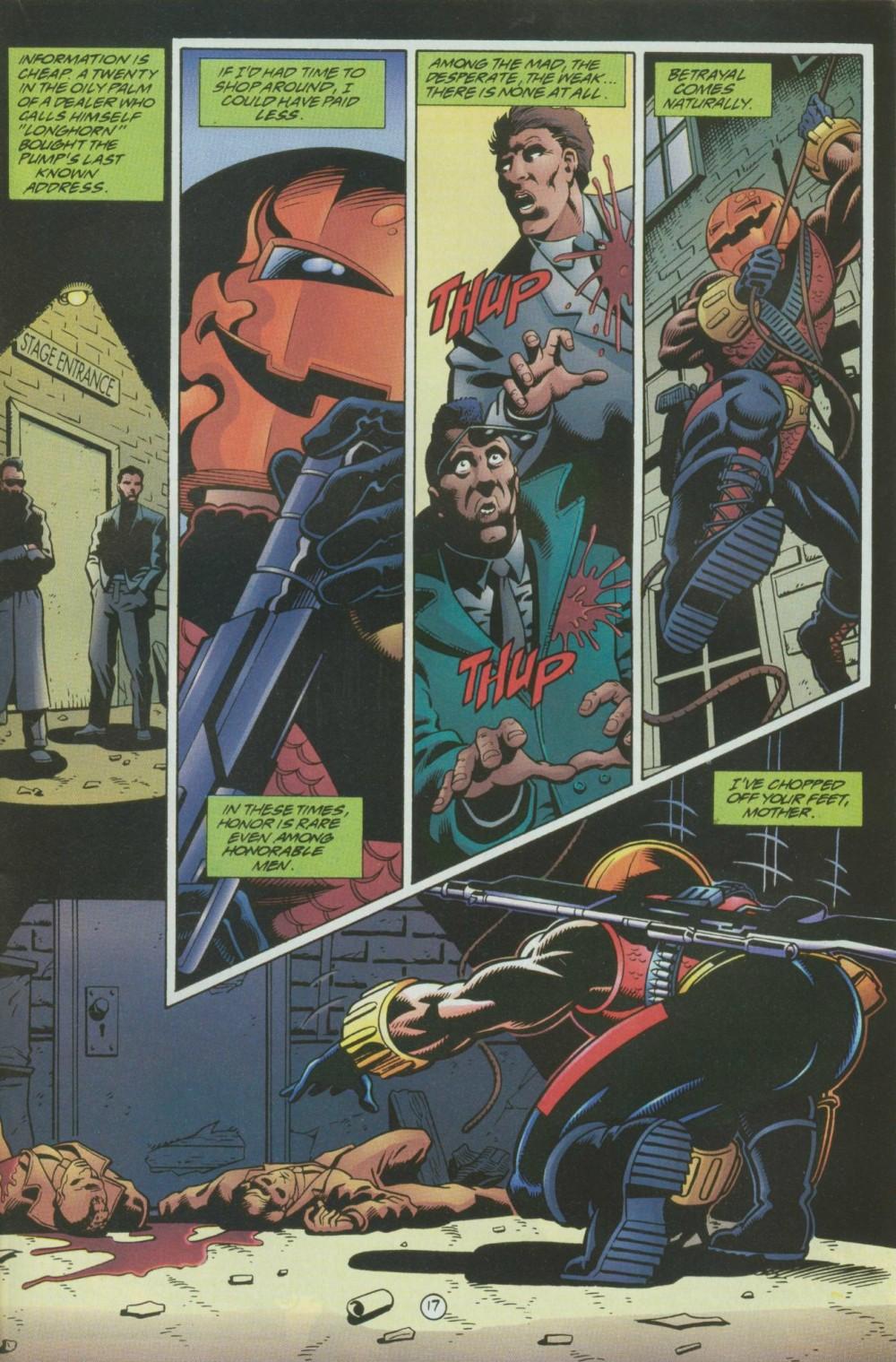 Read online Sludge comic -  Issue #8 - 18