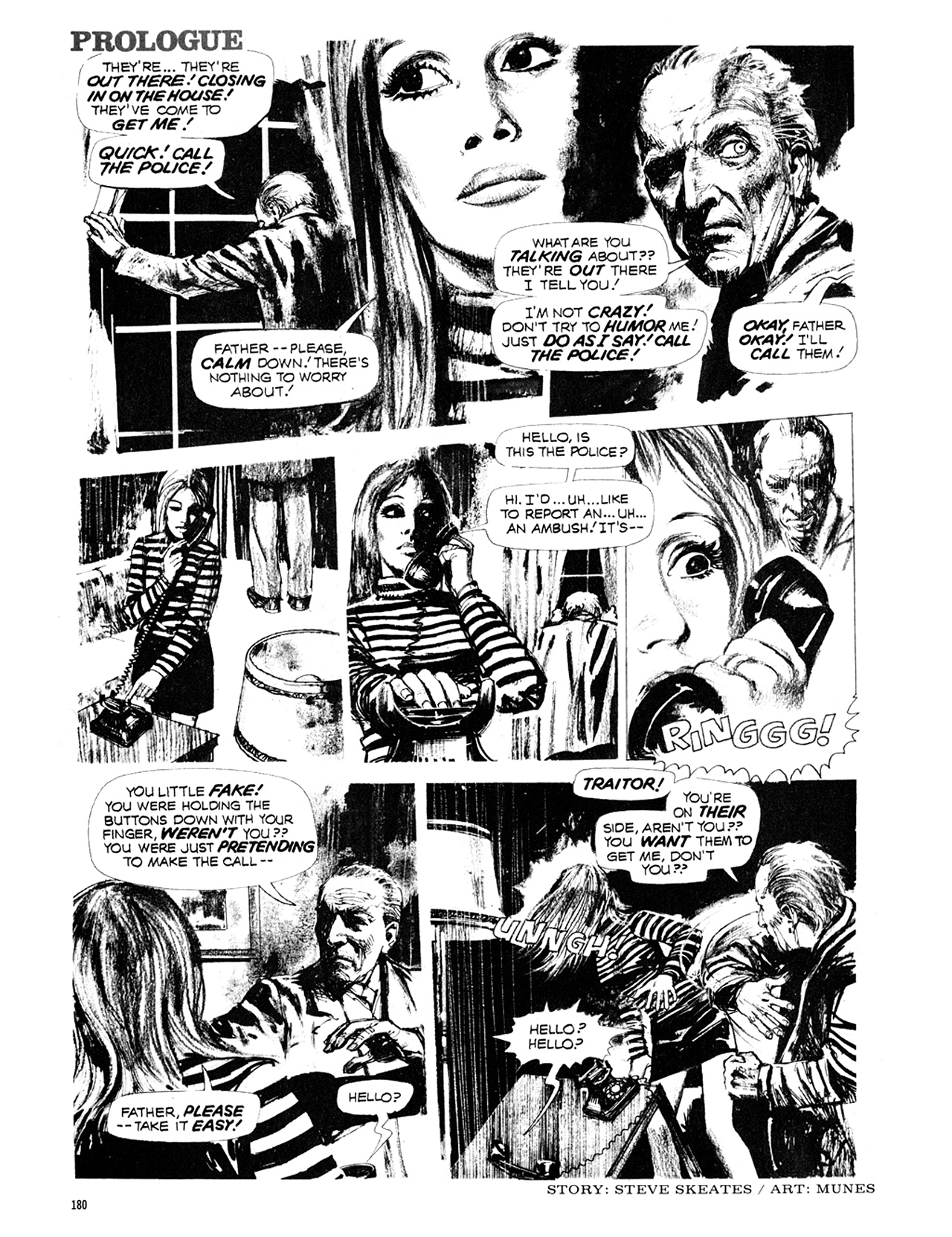 Read online Eerie Archives comic -  Issue # TPB 10 - 181