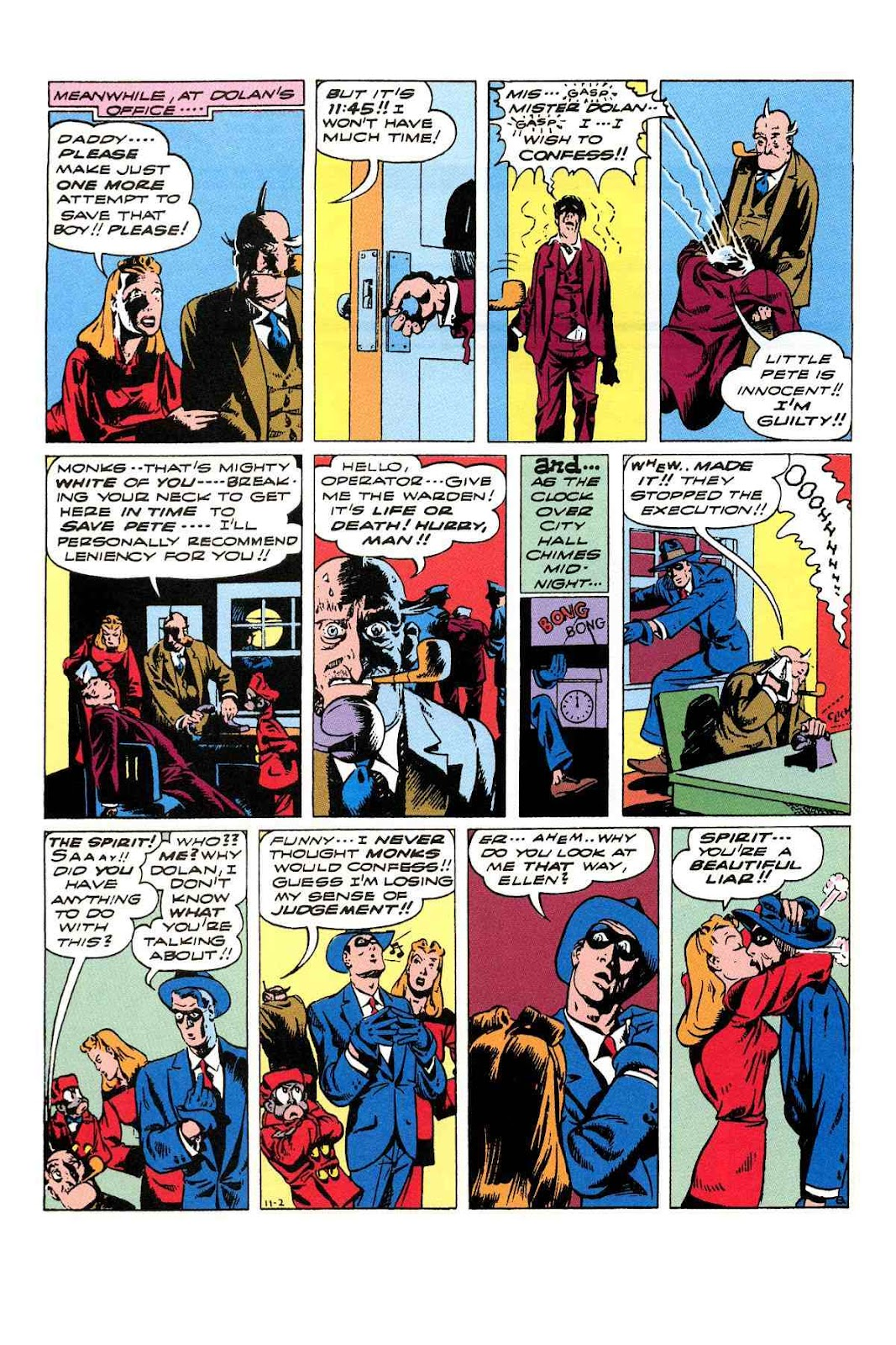 Read online Will Eisner's The Spirit Archives comic -  Issue # TPB 3 (Part 2) - 45