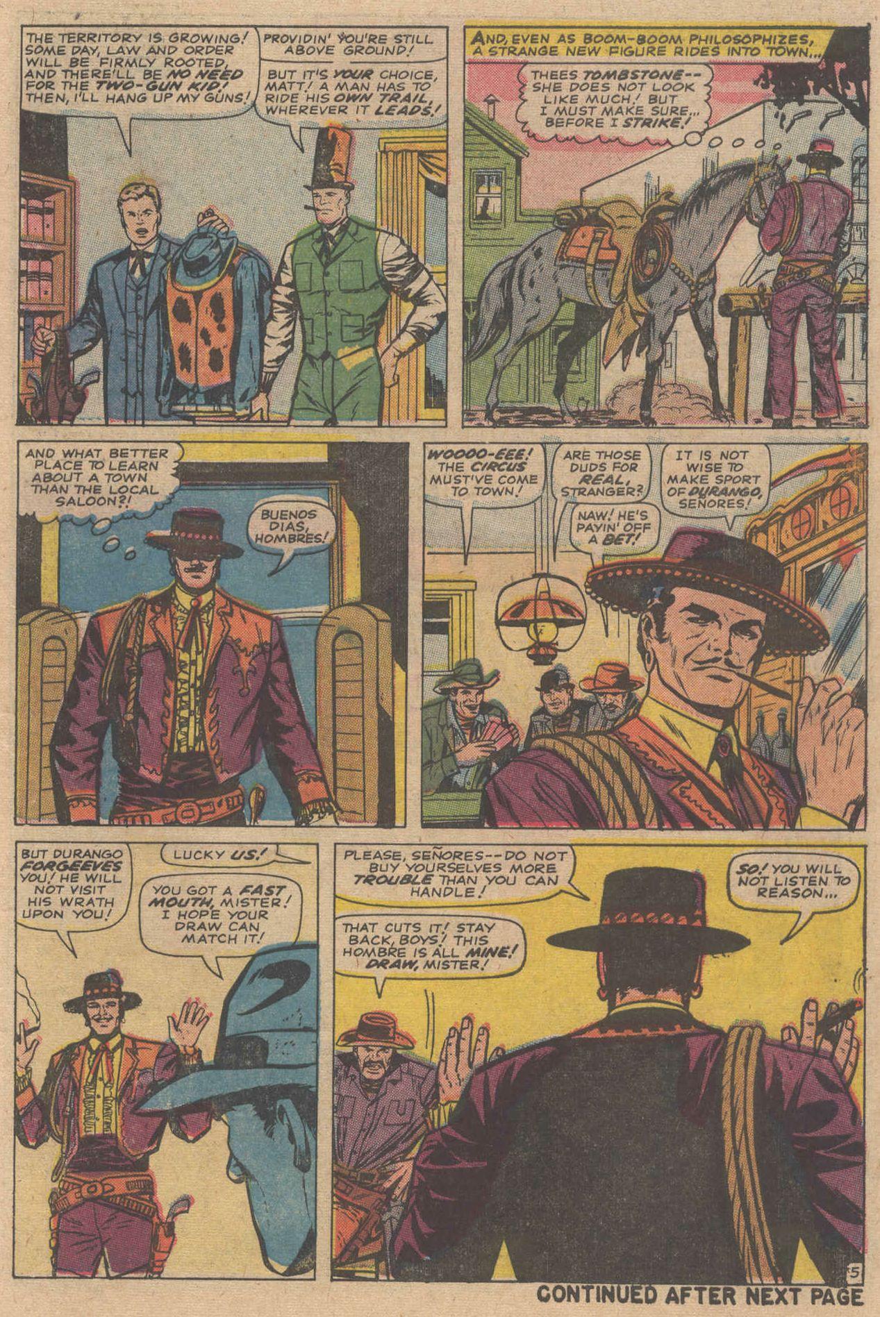 Read online Two-Gun Kid comic -  Issue #83 - 7