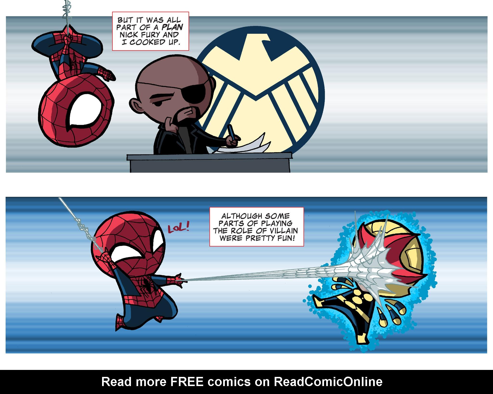 Read online Ultimate Spider-Man (Infinite Comics) (2015) comic -  Issue #19 - 13