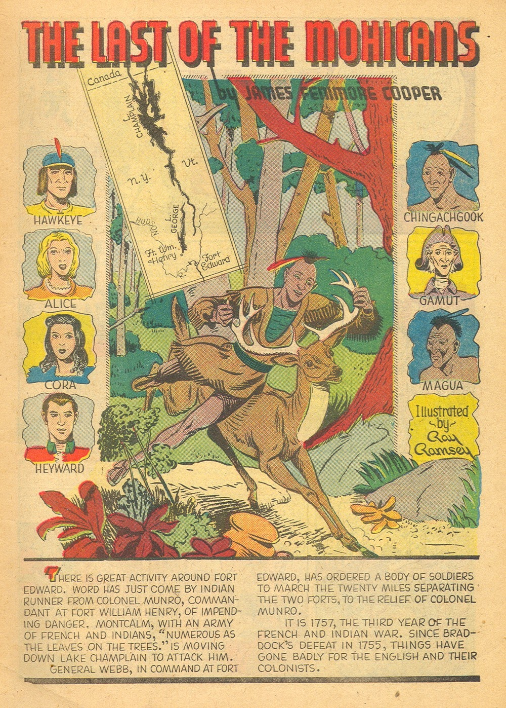 Classics Illustrated issue 4 - Page 3