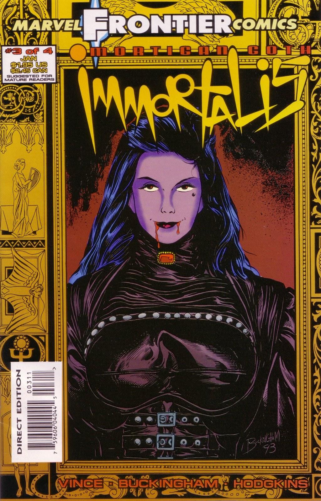 Mortigan Goth: Immortalis 3 Page 1