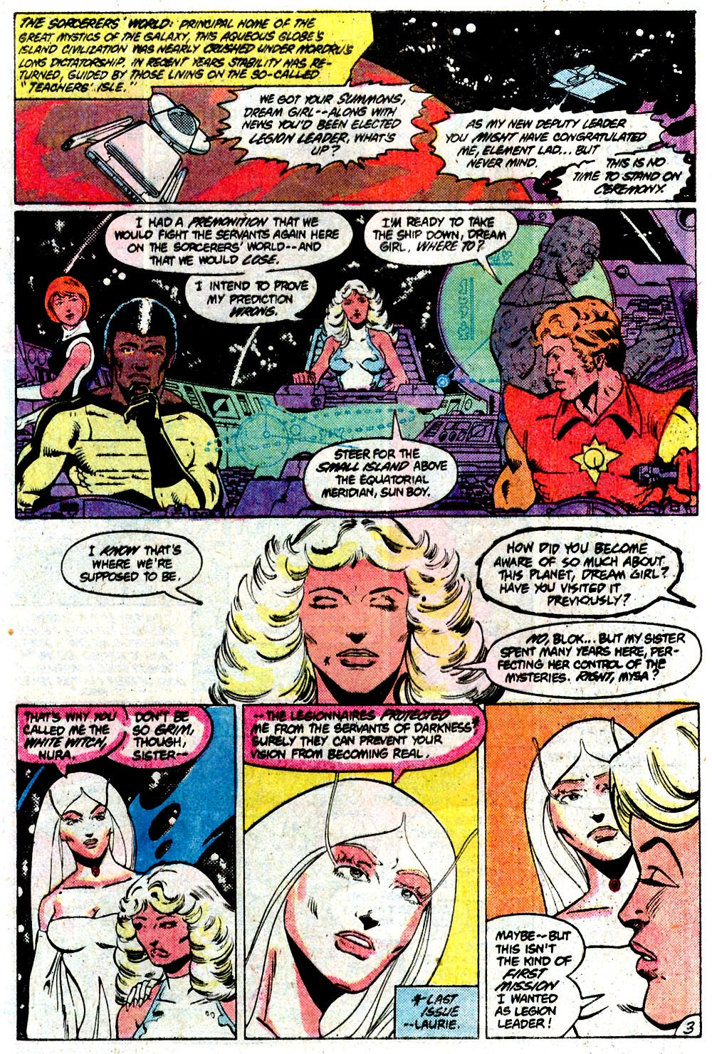 Legion of Super-Heroes (1980) 292 Page 3