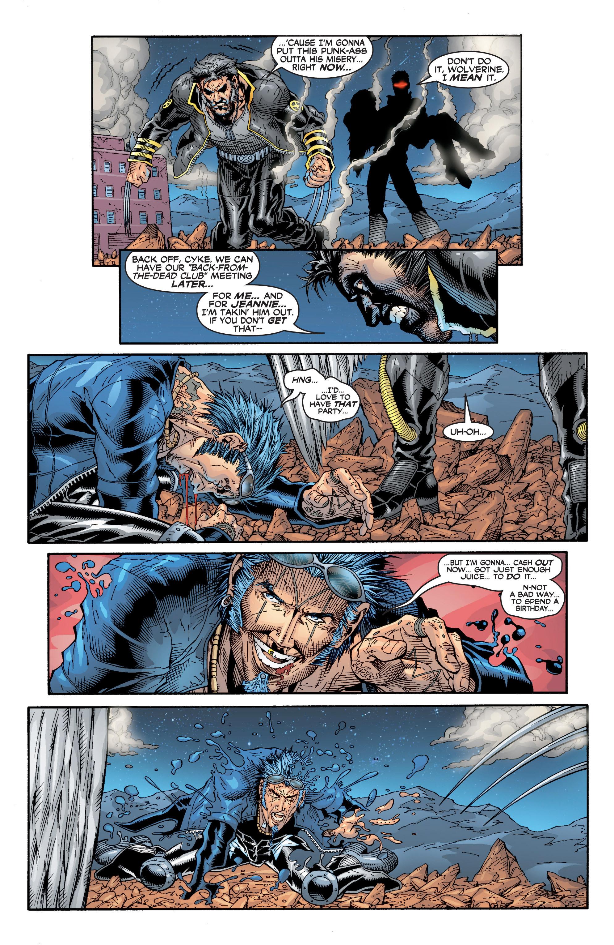 Read online Uncanny X-Men (1963) comic -  Issue #394 - 24