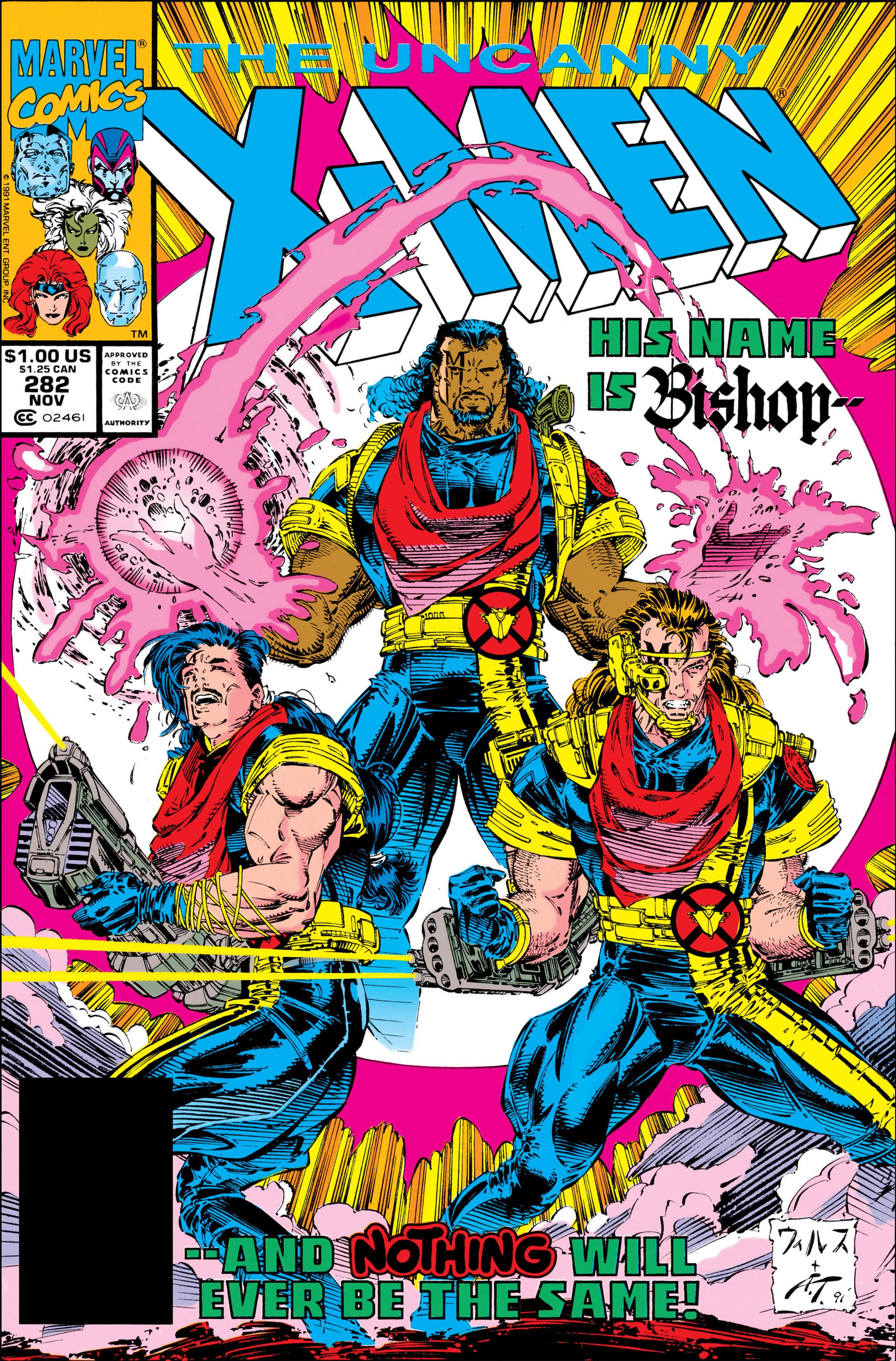 Read online Uncanny X-Men (1963) comic -  Issue #282 - 1