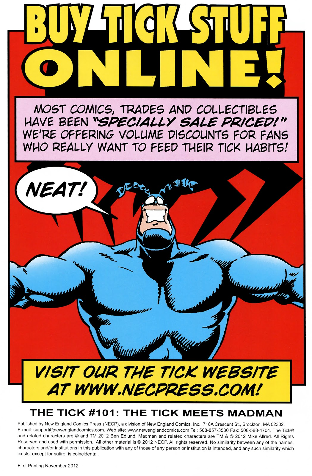 Read online The Tick comic -  Issue #101 - 45