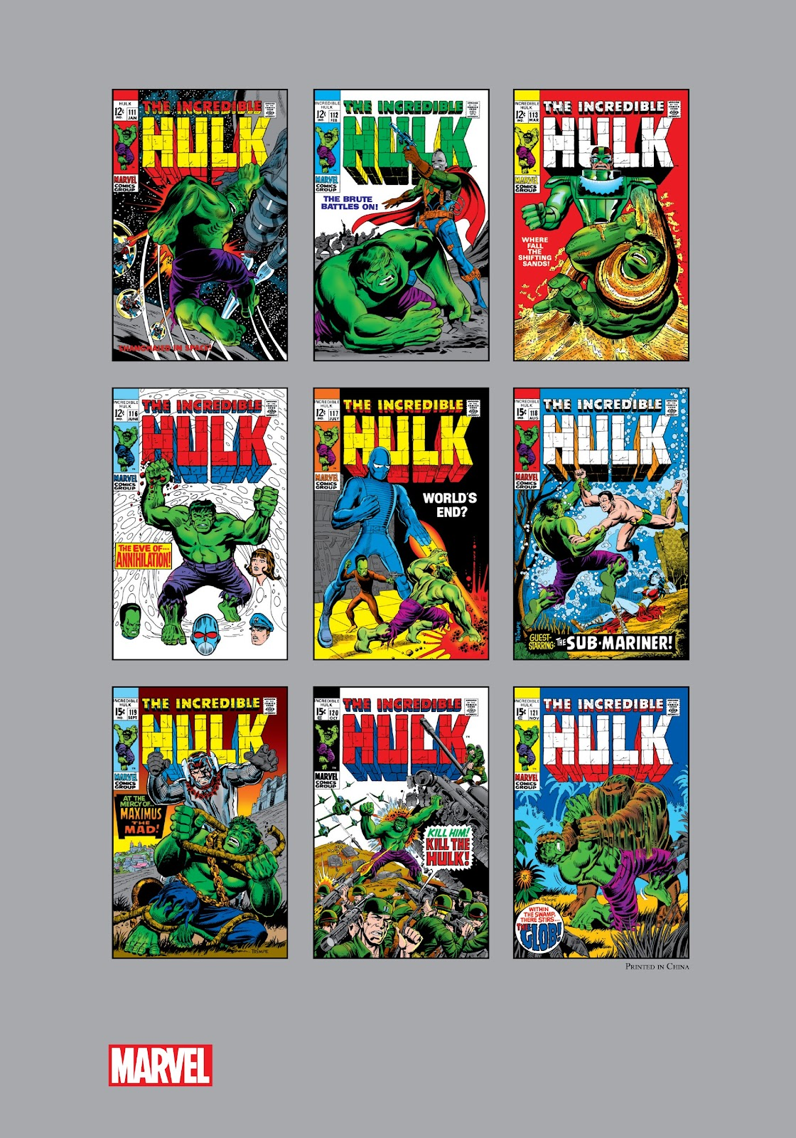Read online Marvel Masterworks: The Incredible Hulk comic -  Issue # TPB 5 (Part 3) - 39