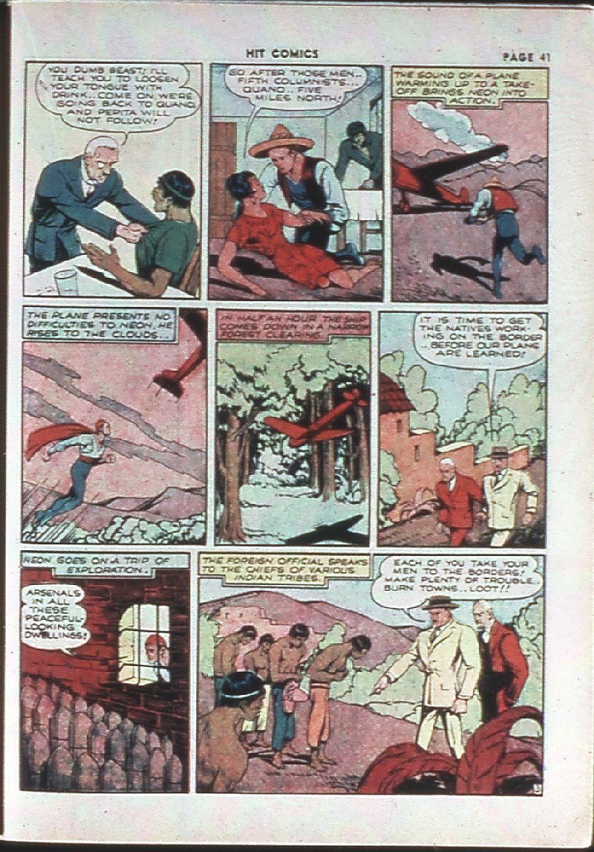 Read online Hit Comics comic -  Issue #10 - 43