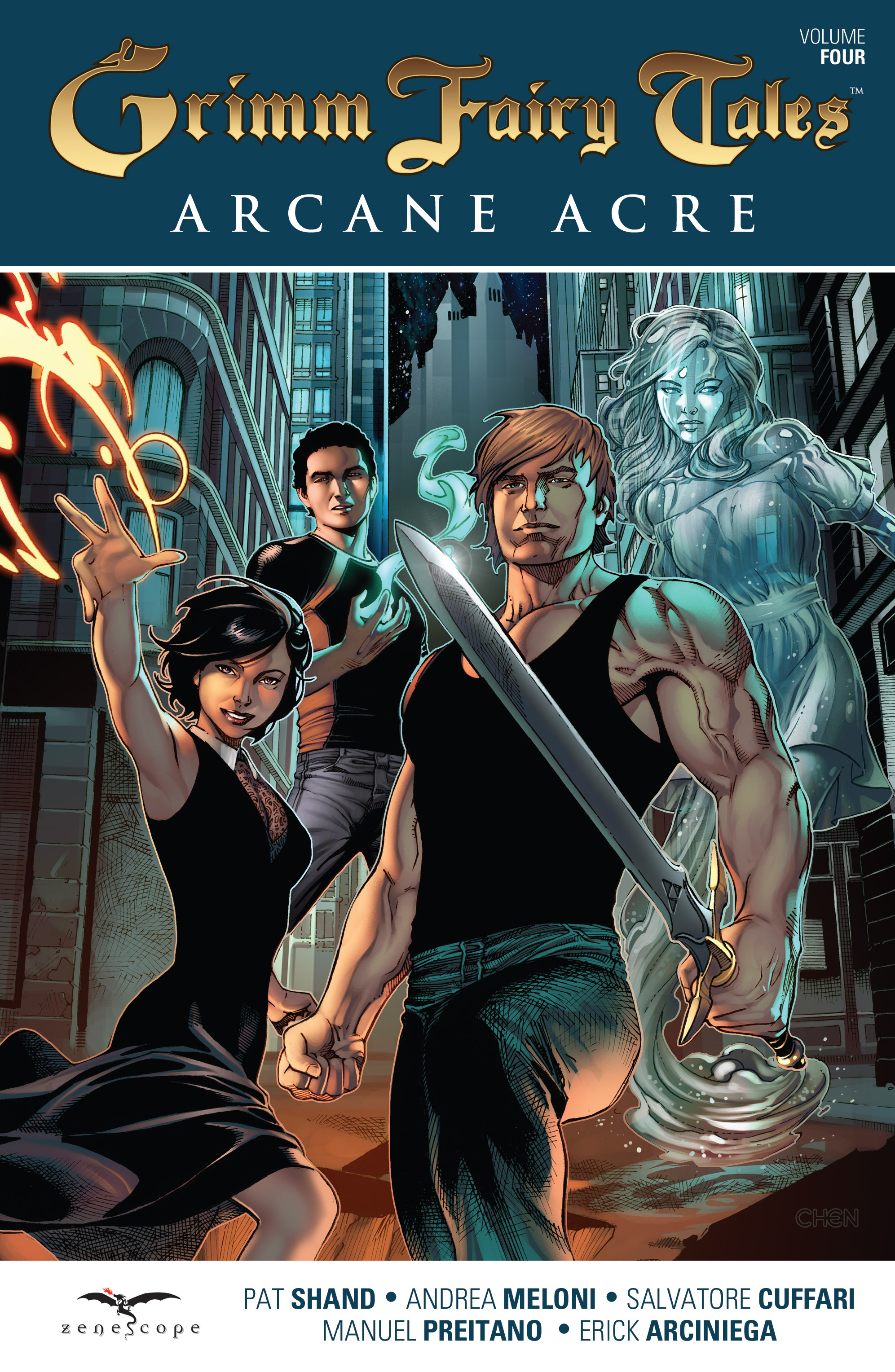 Read online Grimm Fairy Tales: Arcane Acre comic -  Issue # TPB 4 - 1