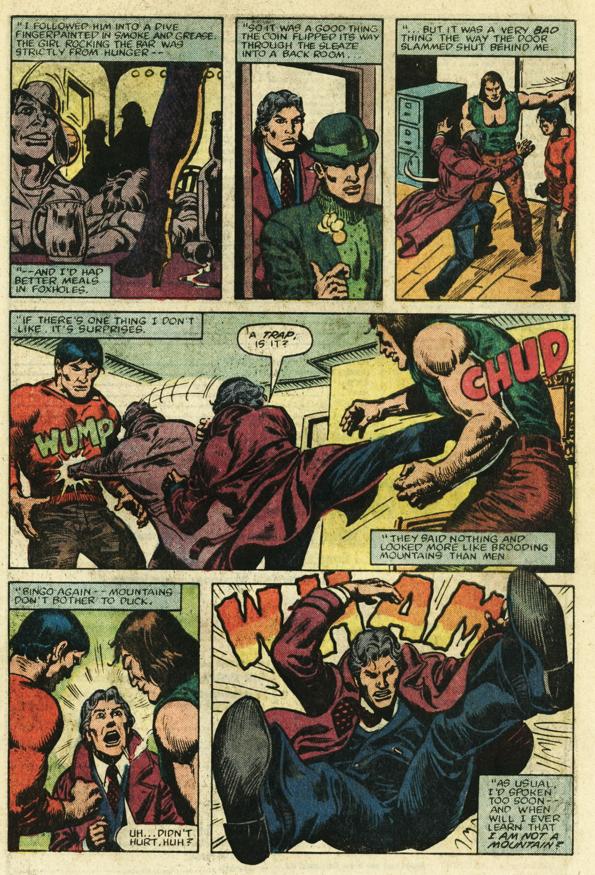 Read online Master of Kung Fu (1974) comic -  Issue #122 - 4