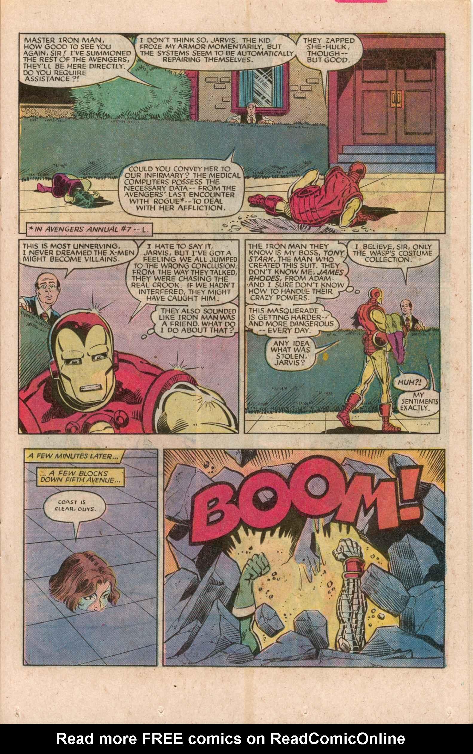 Read online Uncanny X-Men (1963) comic -  Issue # _Annual 7 - 20