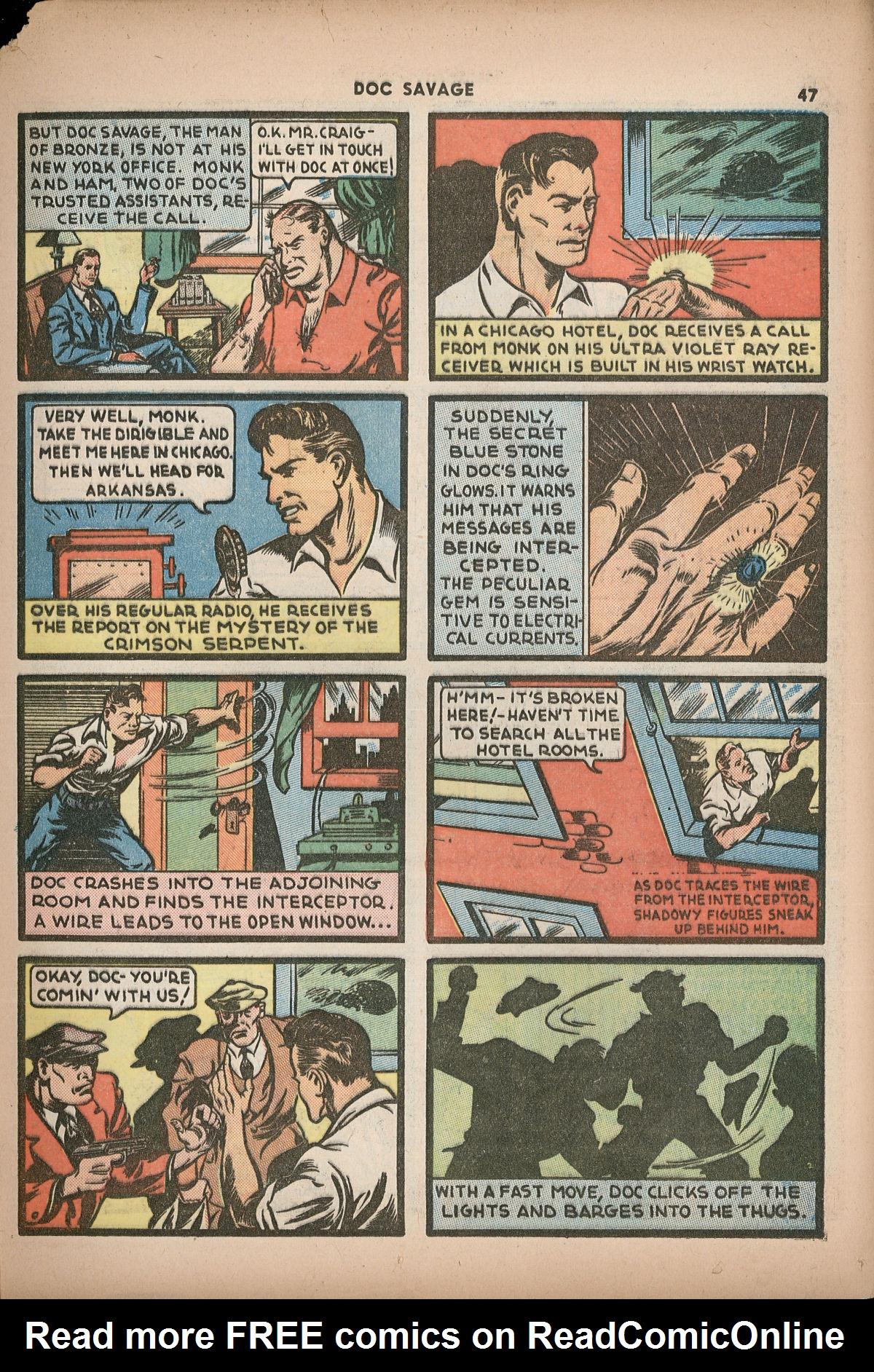 Read online Shadow Comics comic -  Issue #2 - 50