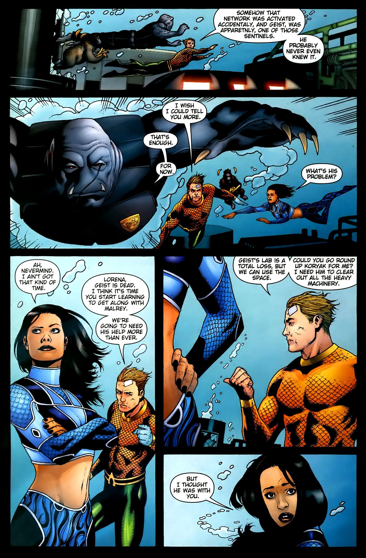 Read online Aquaman (2003) comic -  Issue #36 - 18