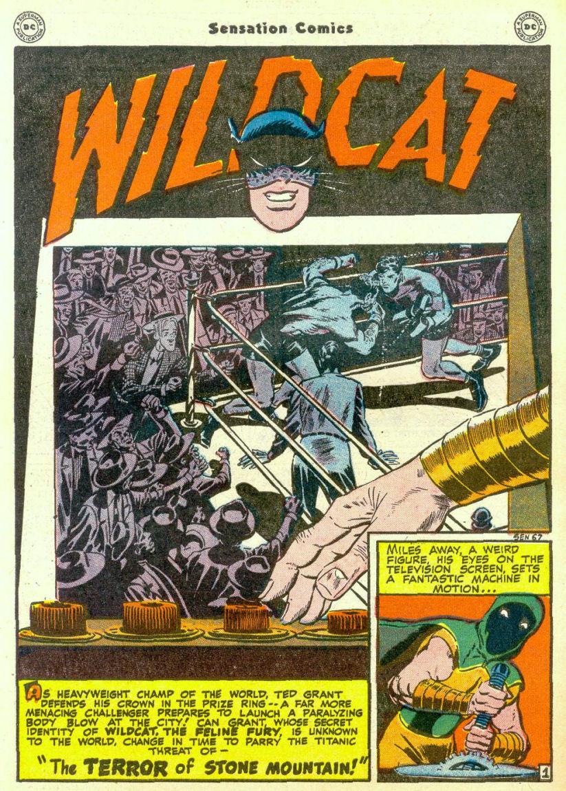 Read online Sensation (Mystery) Comics comic -  Issue #67 - 42