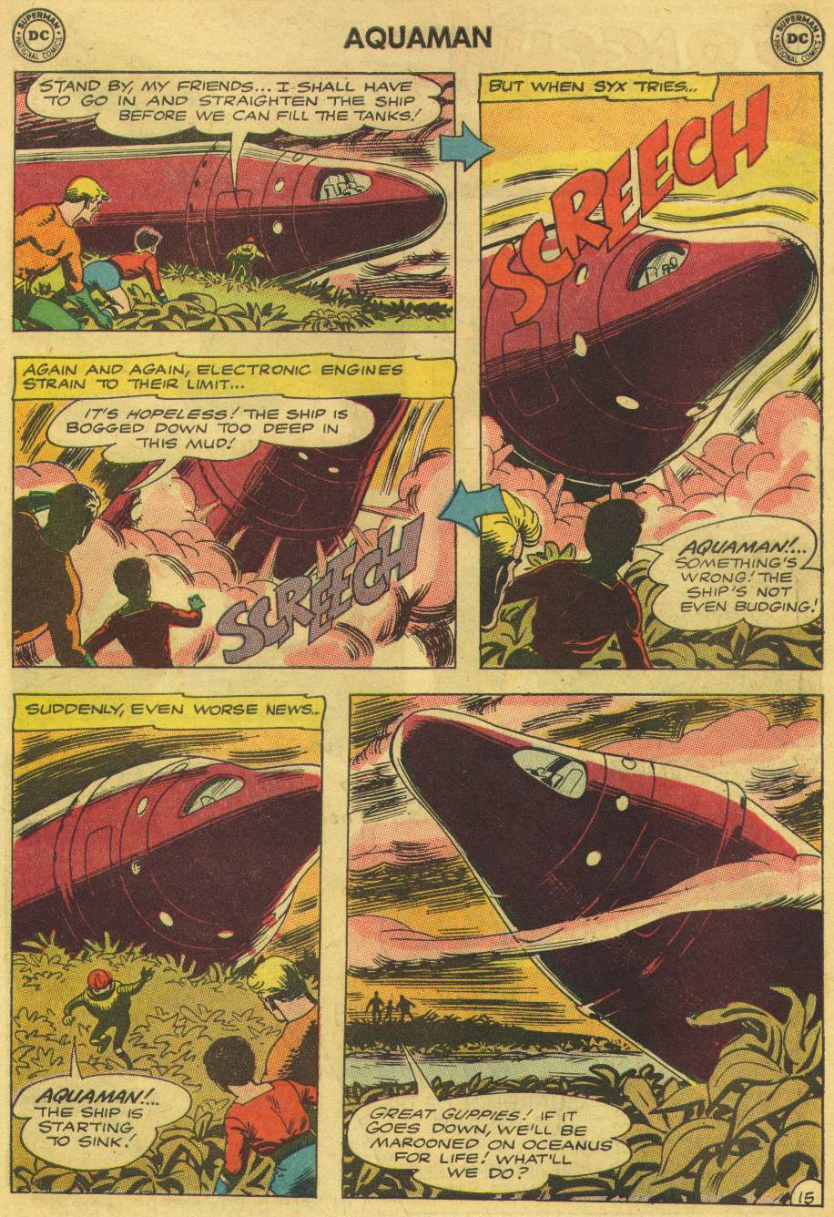 Read online Aquaman (1962) comic -  Issue #8 - 19