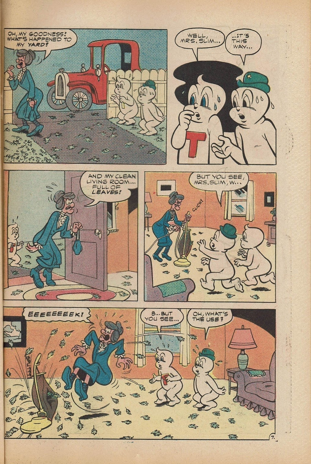 Read online Timmy the Timid Ghost comic -  Issue #5 - 29