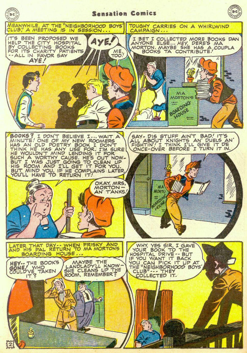 Read online Sensation (Mystery) Comics comic -  Issue #67 - 18