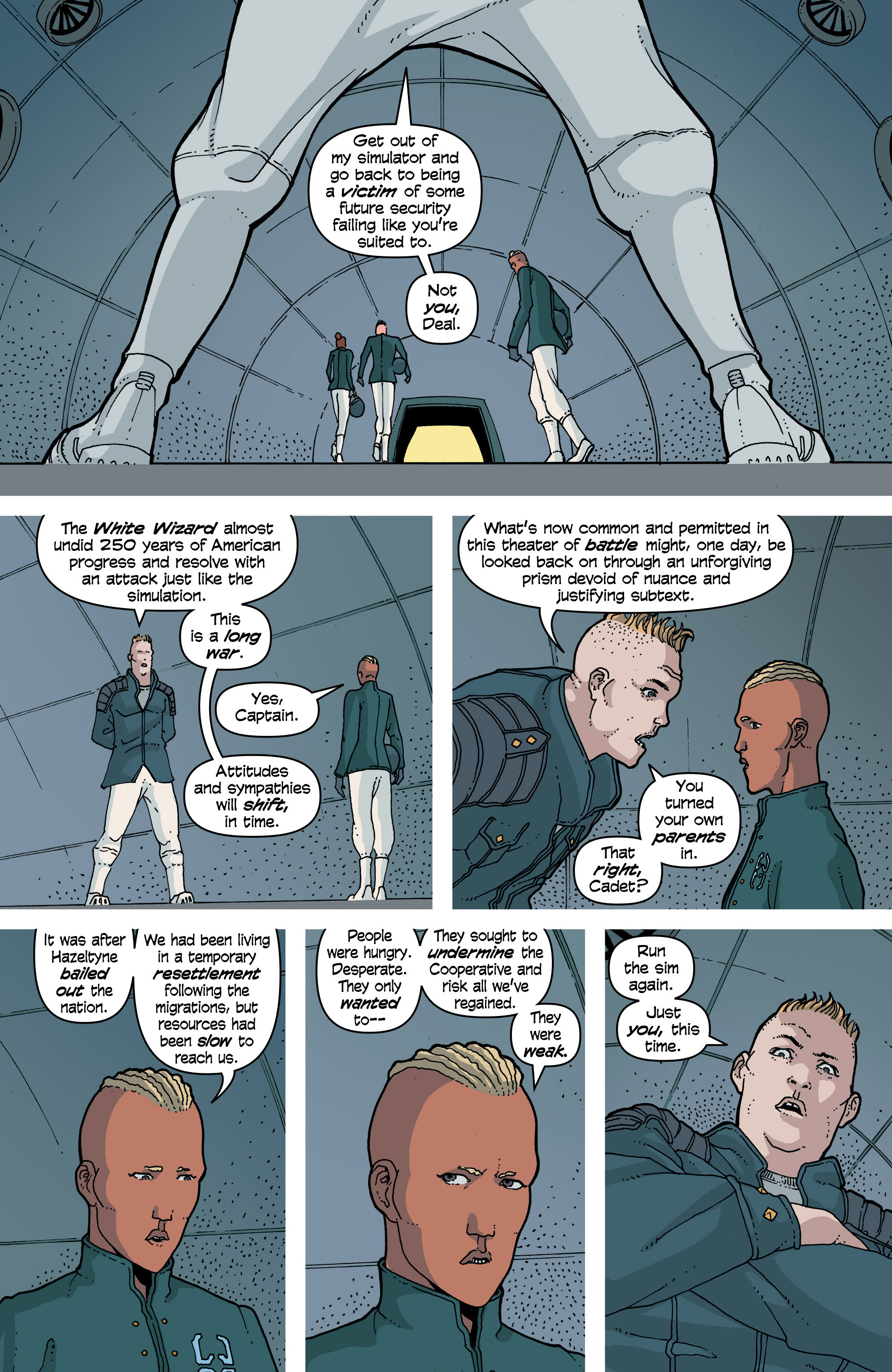 Read online Snowfall comic -  Issue #7 - 7