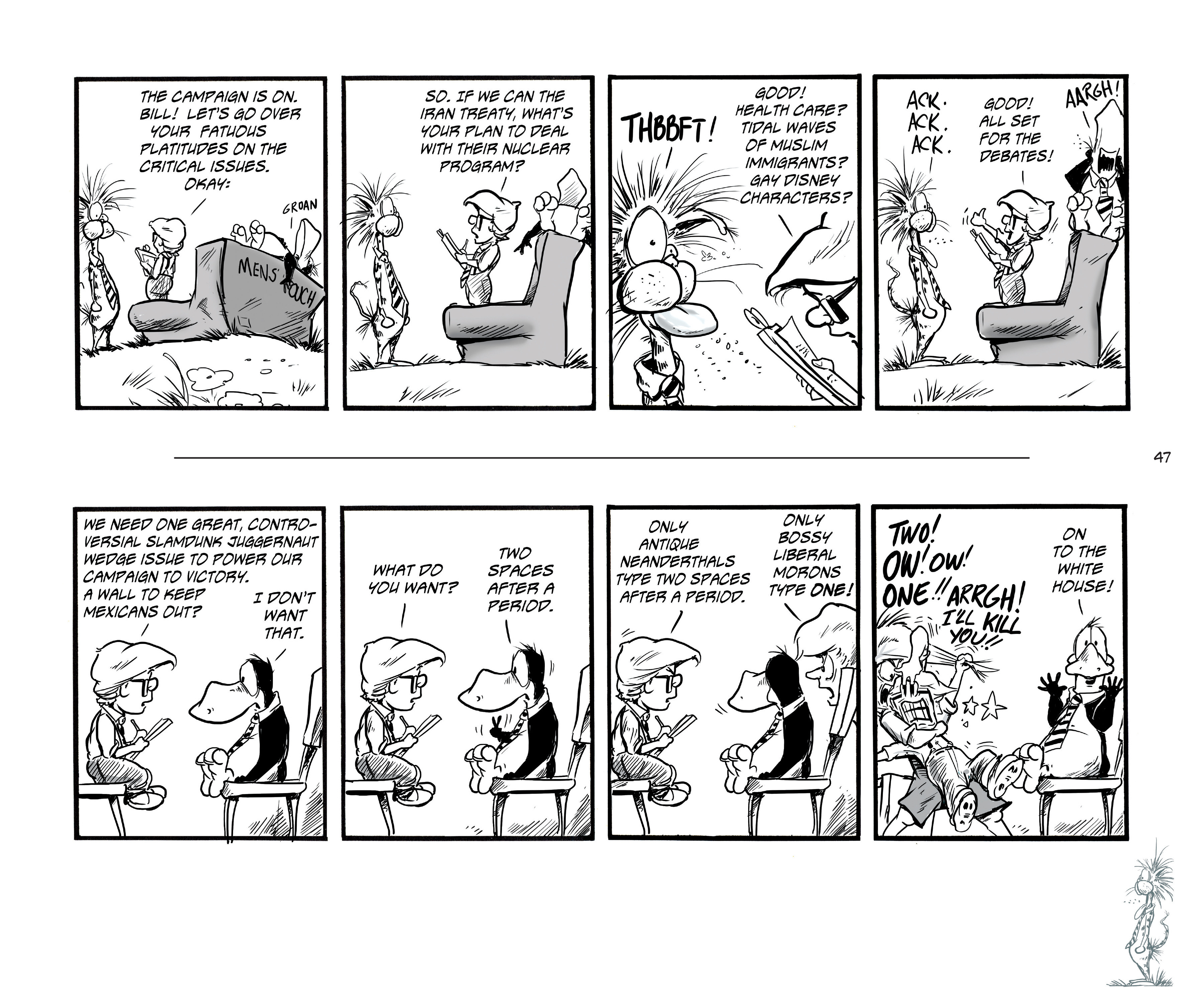 Read online Bloom County Episode XI: A New Hope comic -  Issue # Full - 49