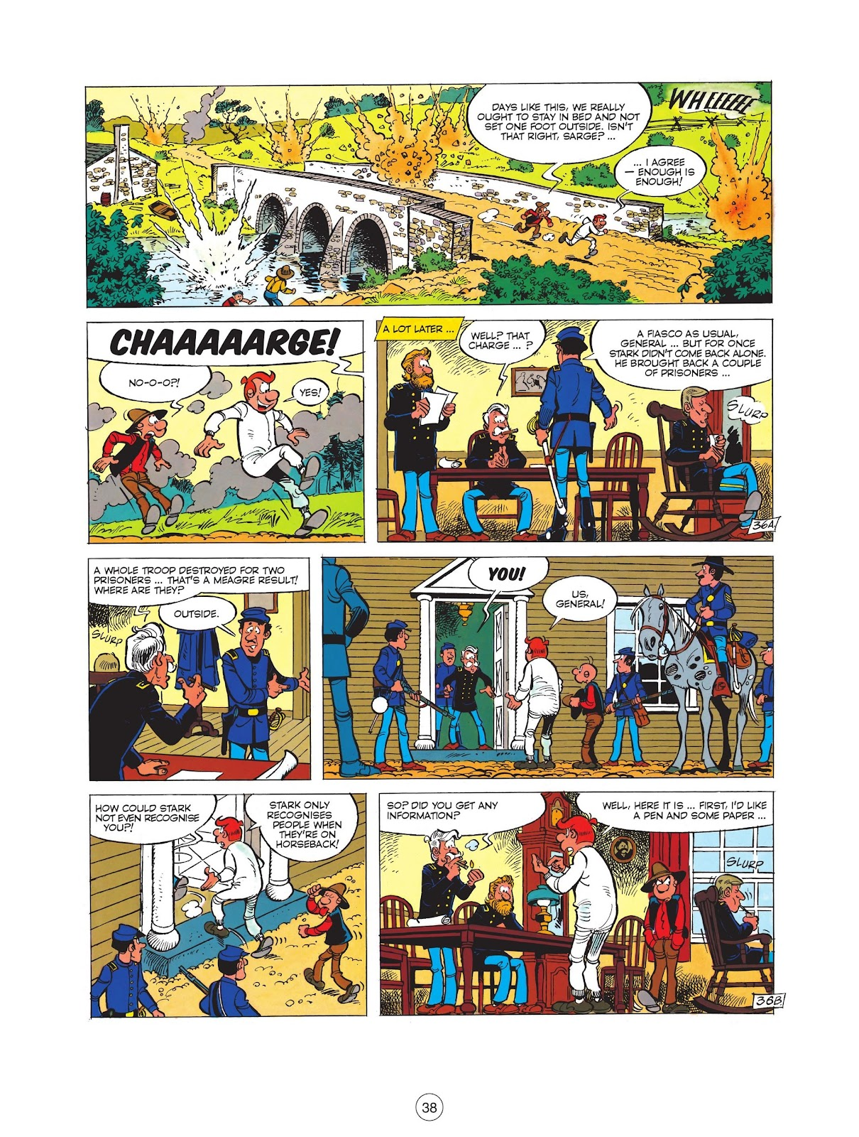 Read online The Bluecoats comic -  Issue #12 - 40