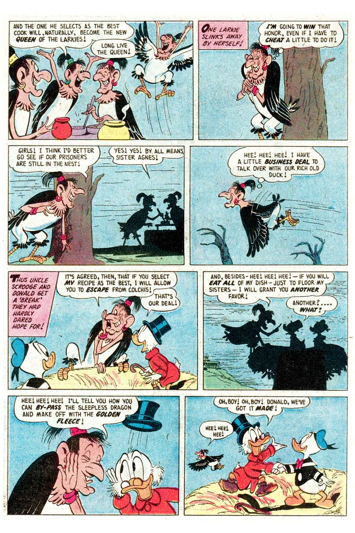 Read online Uncle Scrooge (1953) comic -  Issue #203 - 22