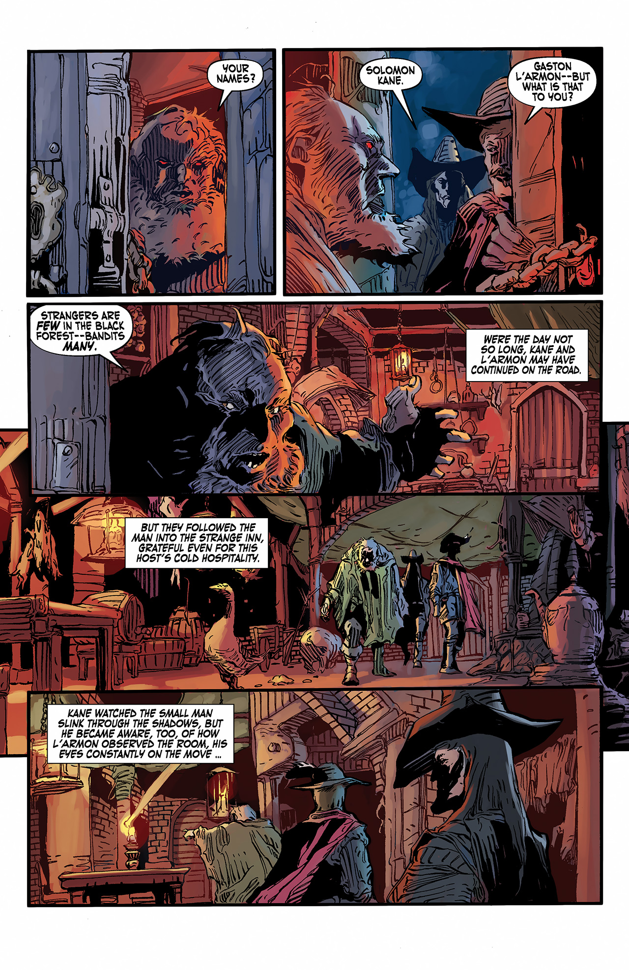 Read online Solomon Kane: Death's Black Riders comic -  Issue #2 - 7